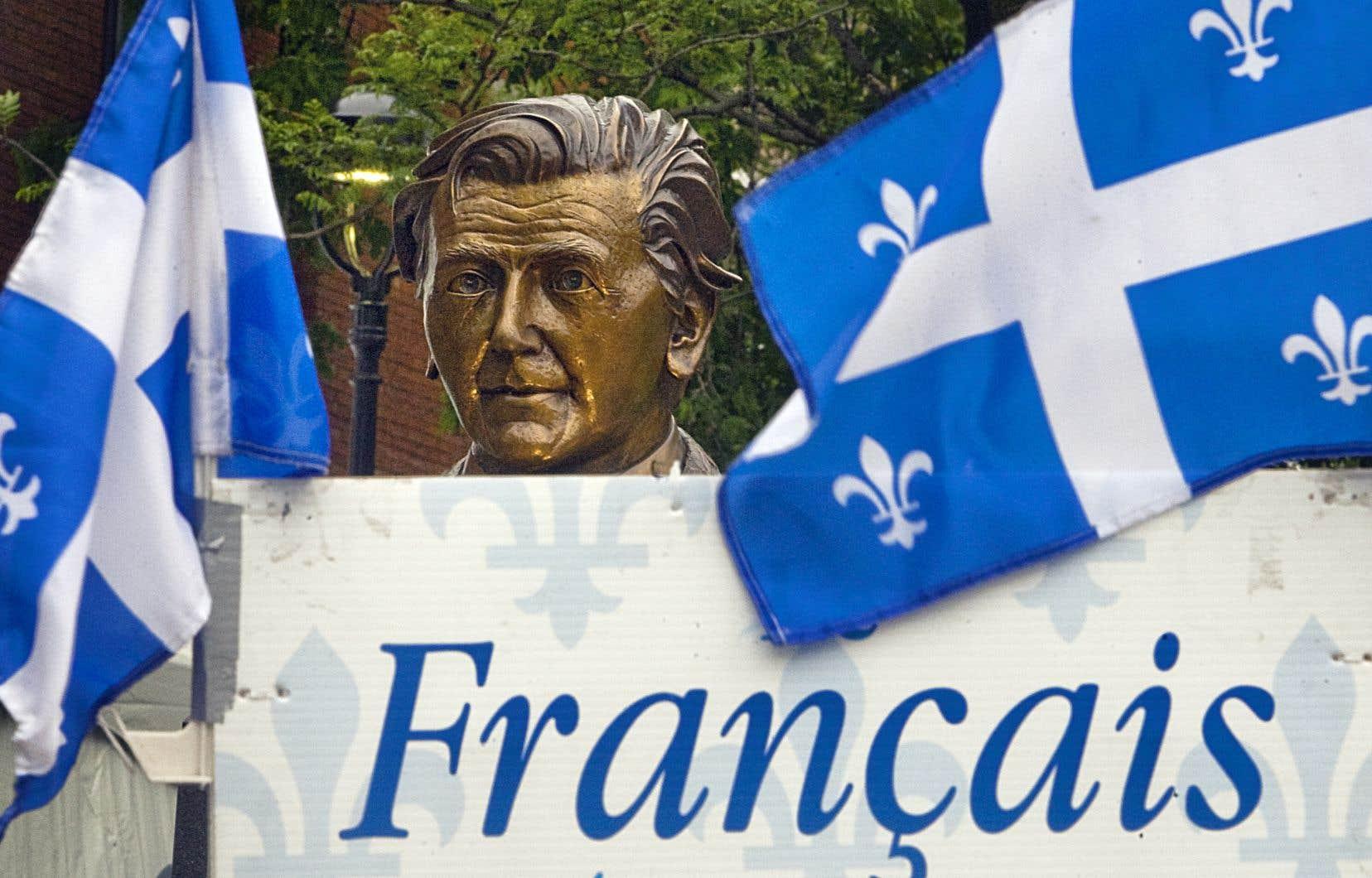«Introduite par Camille Laurin en 1977, la Charte de la langue française nous a permis de faire du français la langue commune et officielle du Québec», rappellent les auteurs.