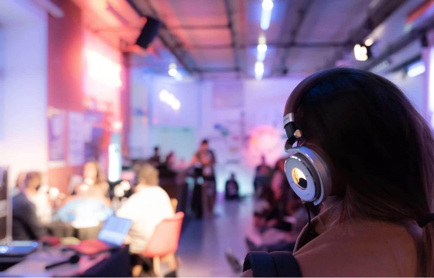 Une douzaine de Québécois se rendront au Paris Podcast Festival, qui commence vendredi, comparativement à deux l'an dernier.