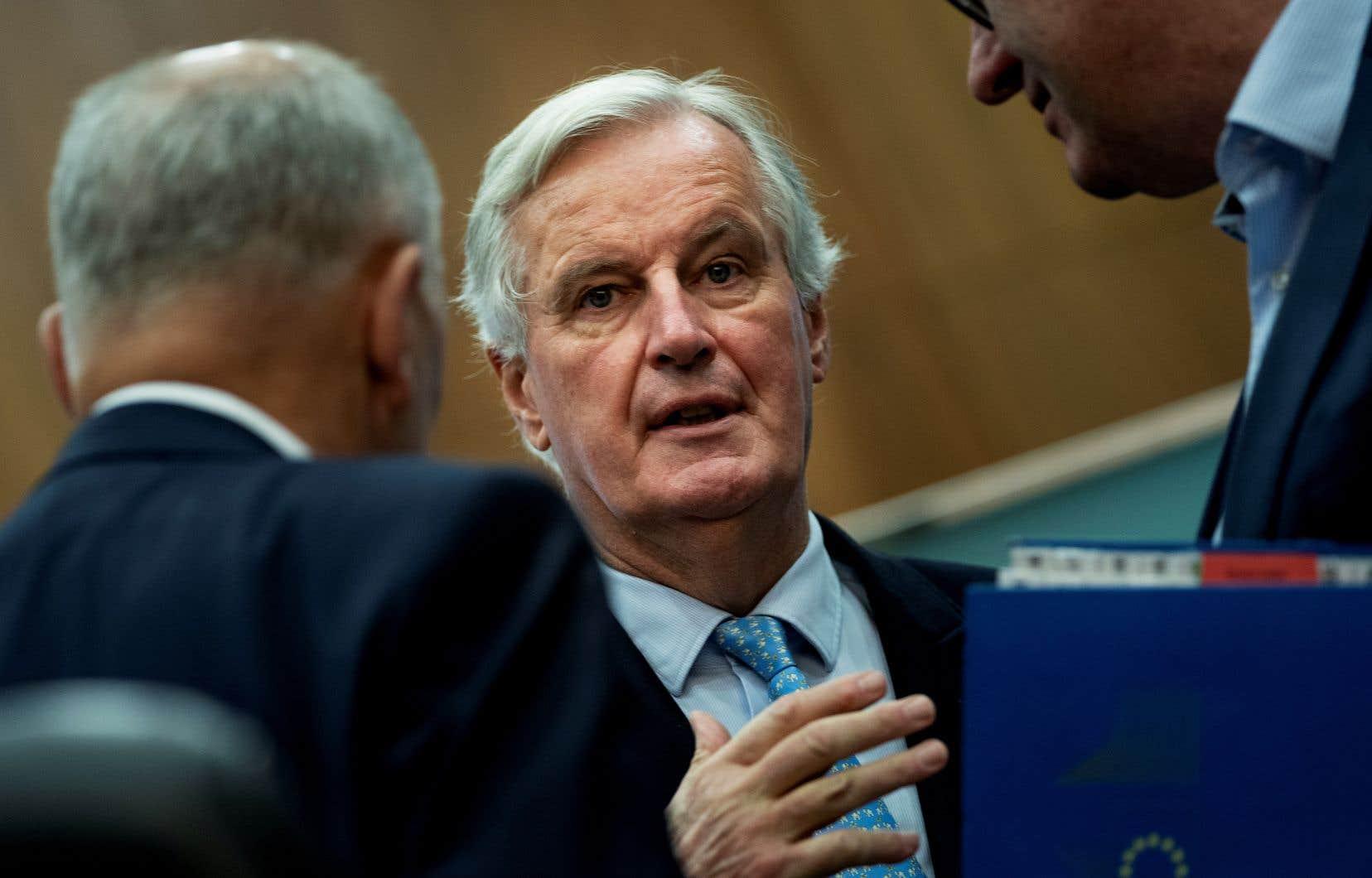 Le négociateur de l'Union européenne, Michel Barnier