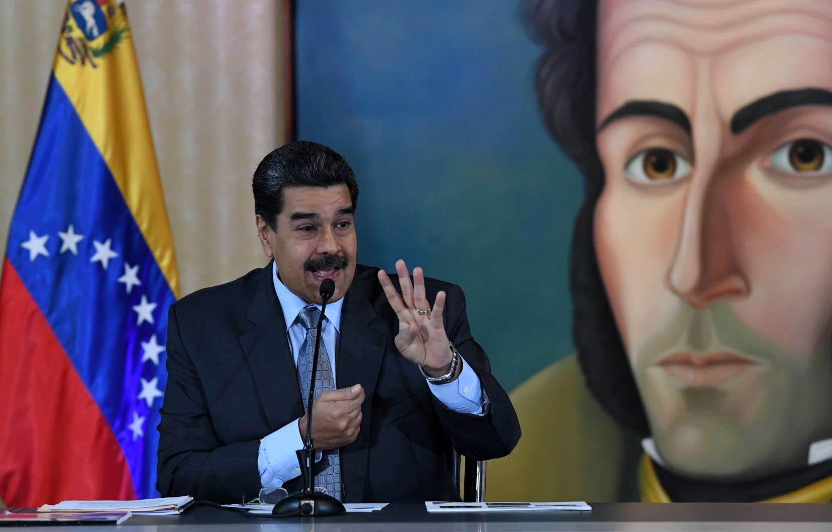 Le président du Venezuela, Nicolás Maduro