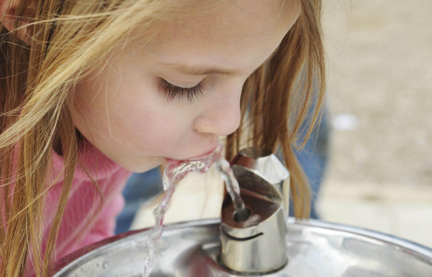 «Le Devoir», citant une étude de l'Institut national de santé publique du Québec, avait révélé en juillet dernier que le niveau de plomb dans l'eau de certains établissements scolaires était assez important pour avoir des effets sur le quotient intellectuel des enfants.
