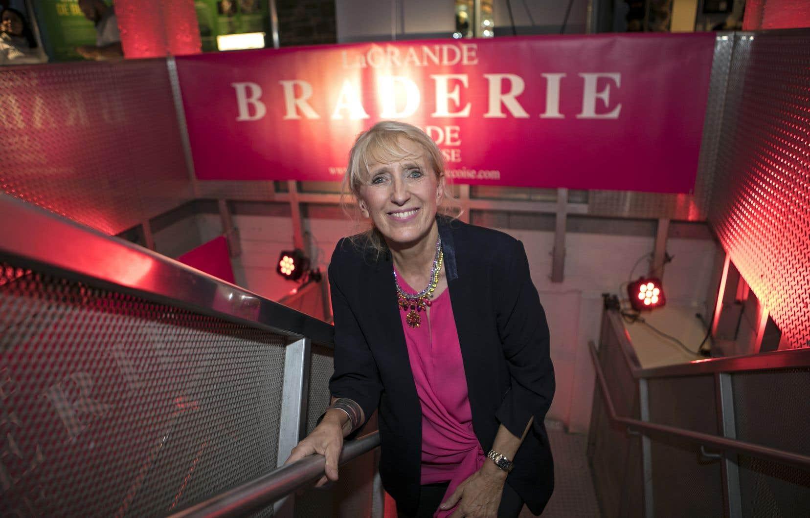 Pour Anne de Shalla, présidente de la Grande Braderie, l'achat local et responsable est une tendance qui se manifeste de plus en plus dans le monde de la mode.