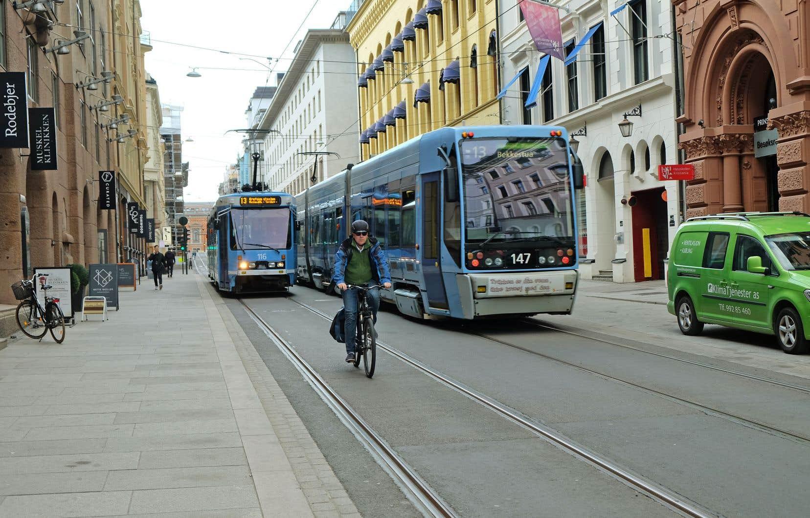 La ville d'Oslo (en photo), en Norvège, a élaboré en 2017 un «budget climat» établi en fonction de cibles de réduction de GES à court, moyen et long terme.