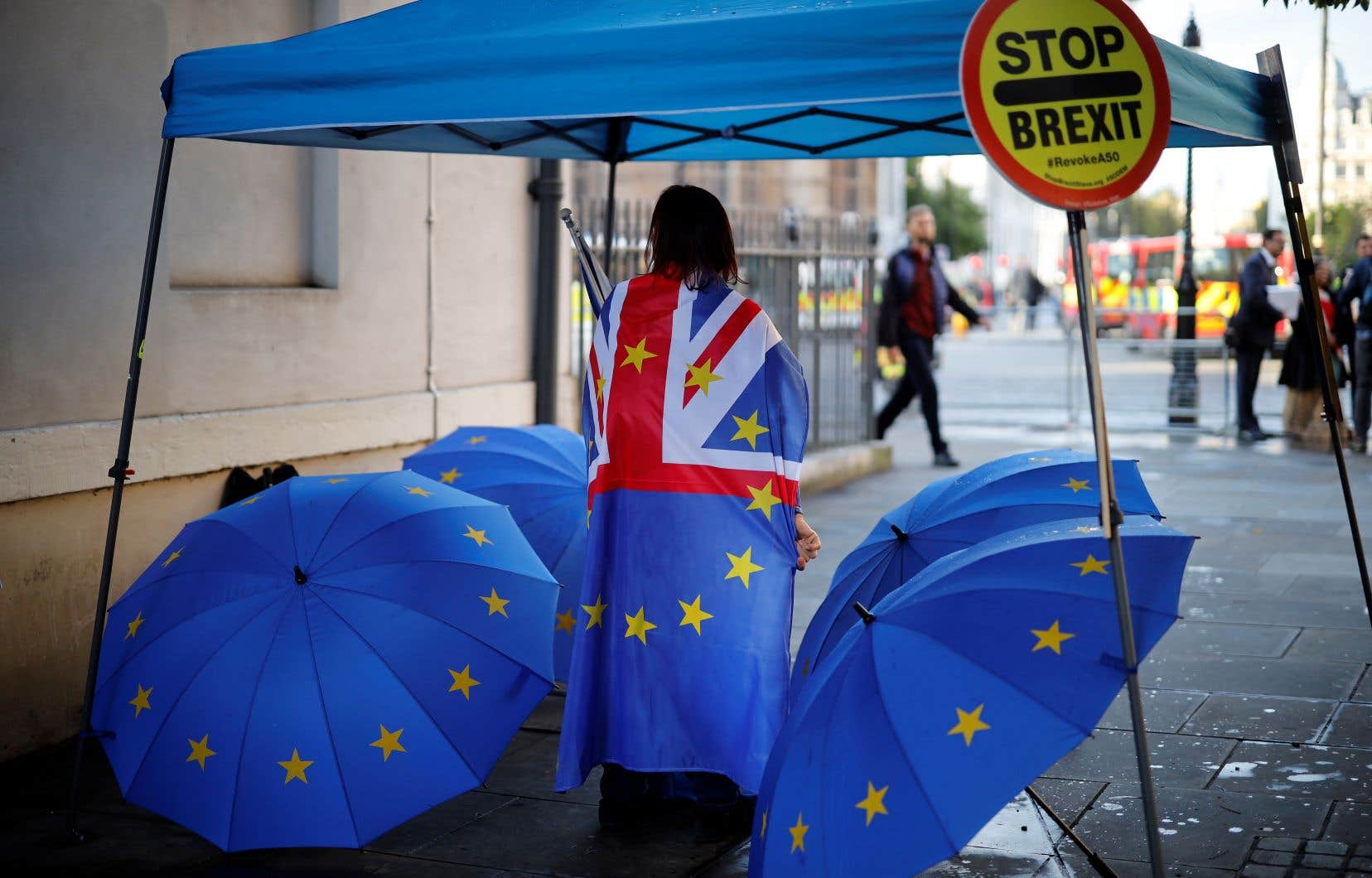 À peine 20% des Britanniques sont favorables à une sortie de l'Europe avec l'accord de Boris Johnson, selon un sondage publié vendredi.