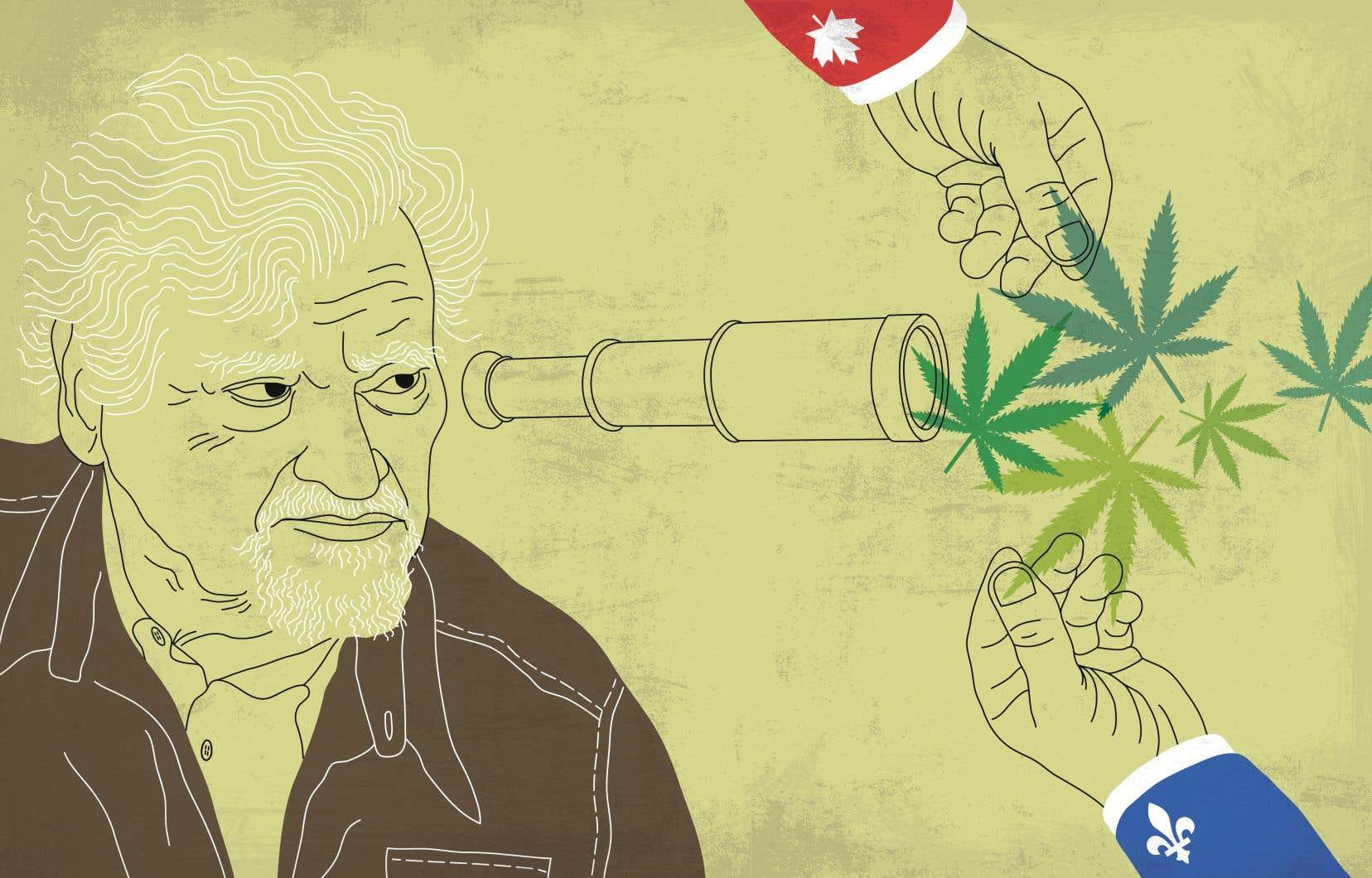 La croisade symbolique de la CAQ contre le cannabis