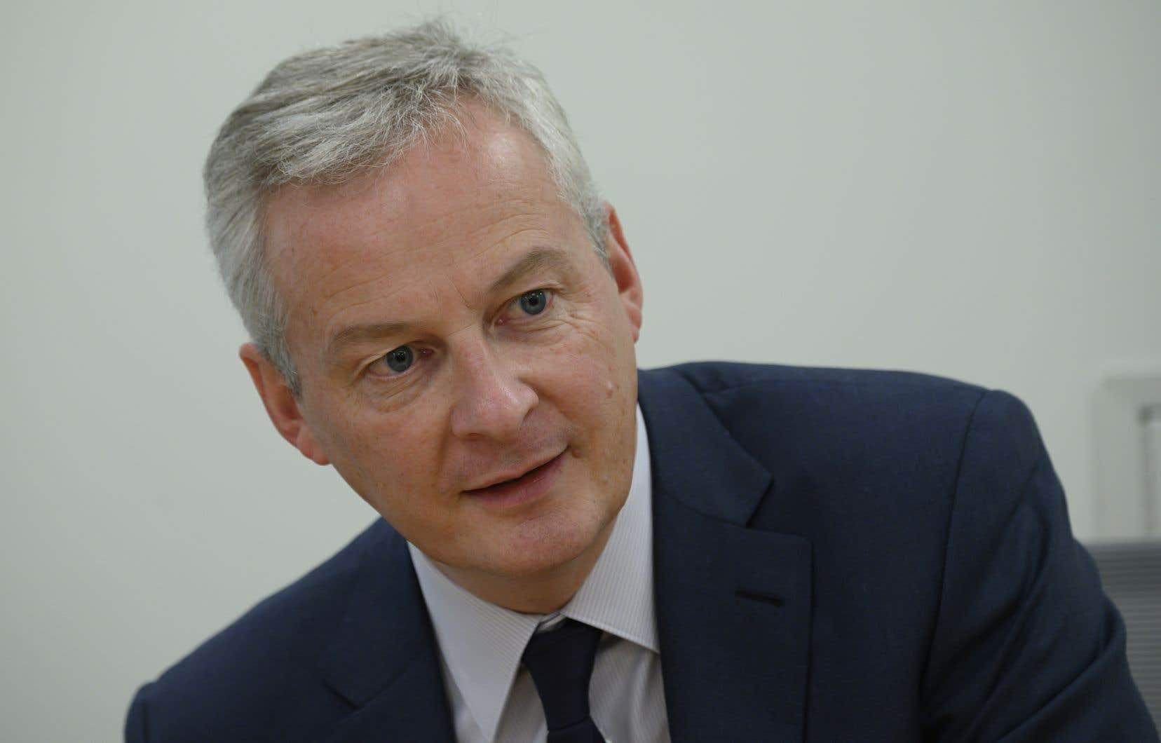 «Le plus tôt sera le mieux», a encore indiqué le ministre français de l'Économie, Bruno Le Maire, ajoutant toutefois qu'il n'y aurait «pas de suspension des sanctions du côté américain».