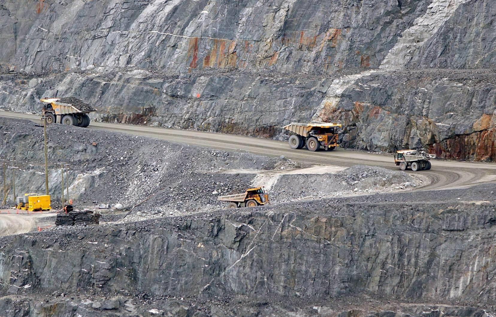 Les entreprises chinoises ont notammentbesoin des exportations québecoises en minerais.