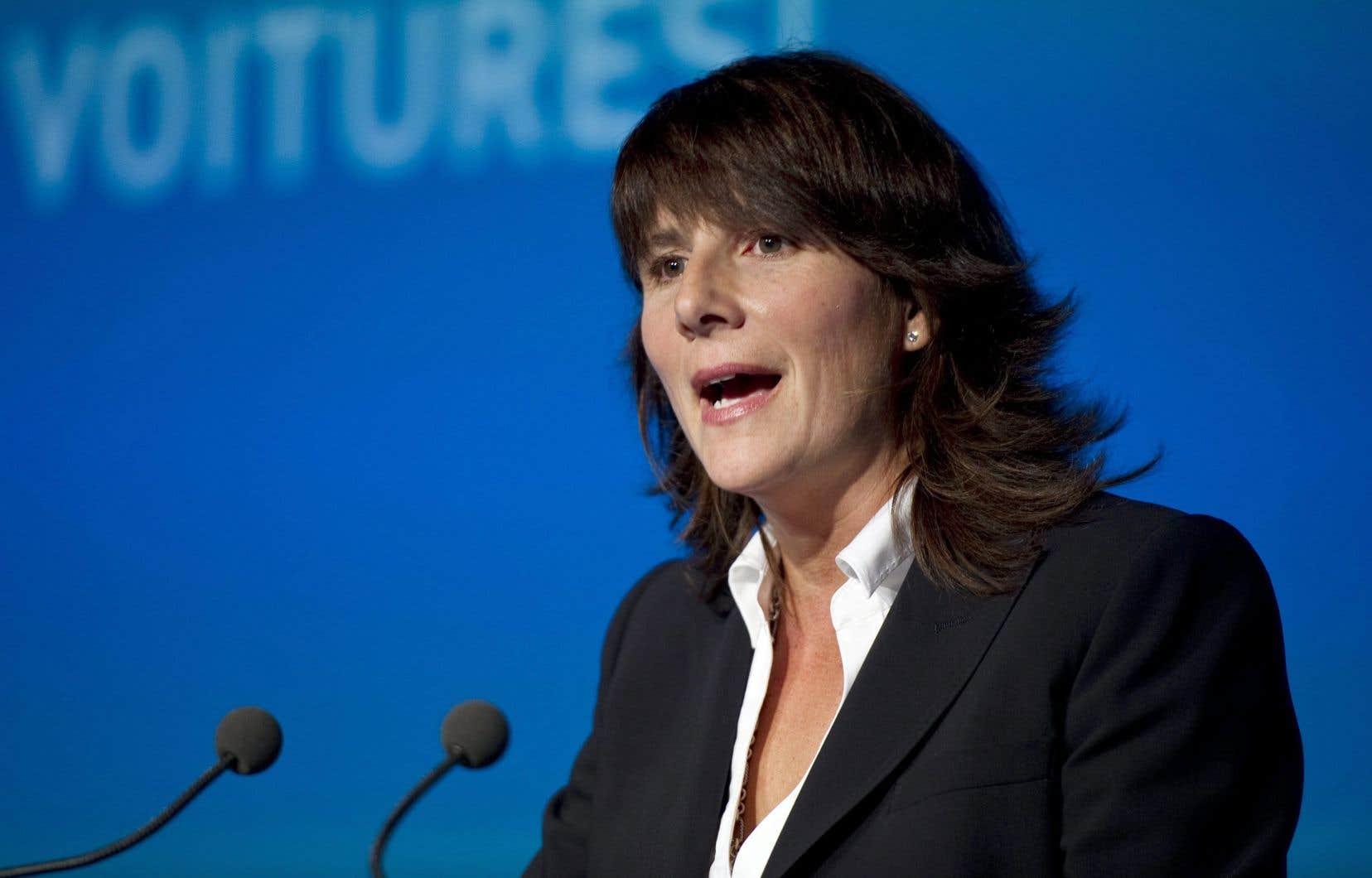 Sophie Brochu quittera son poste de présidente d'Énergir le 30 décembre.