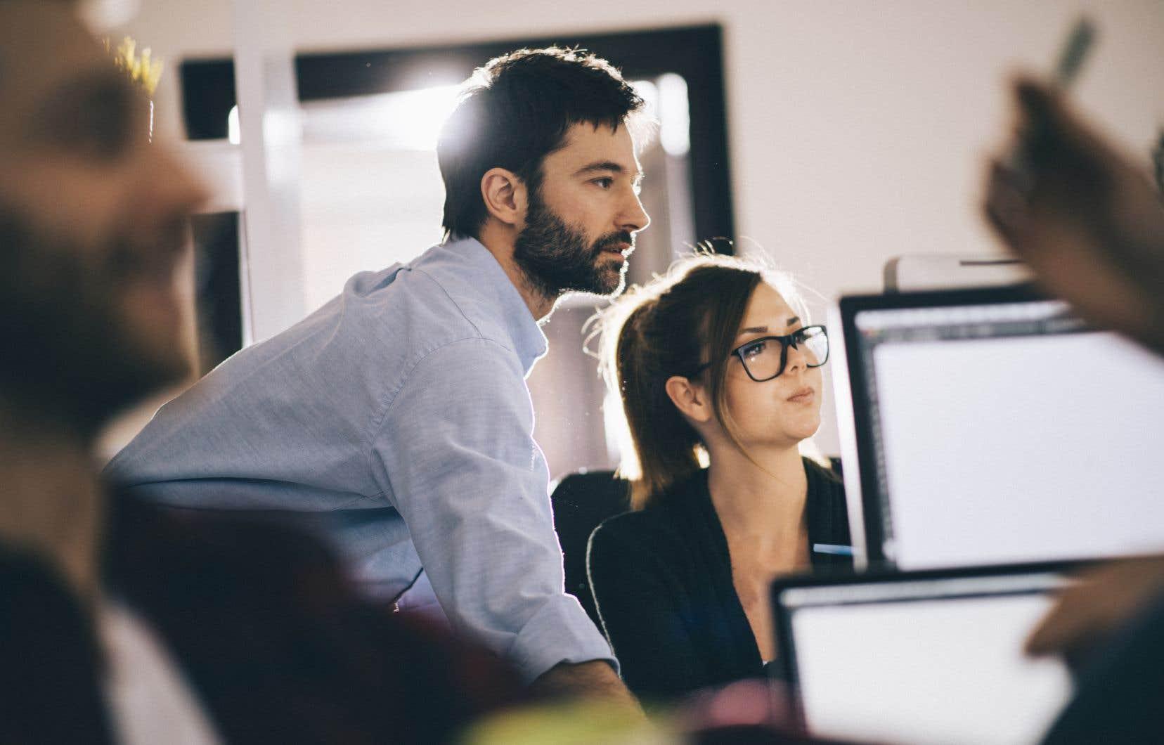 Le pourcentage de personnes intéressées par le lancement de leur propre entreprise atteint 42% chez les millénariaux.