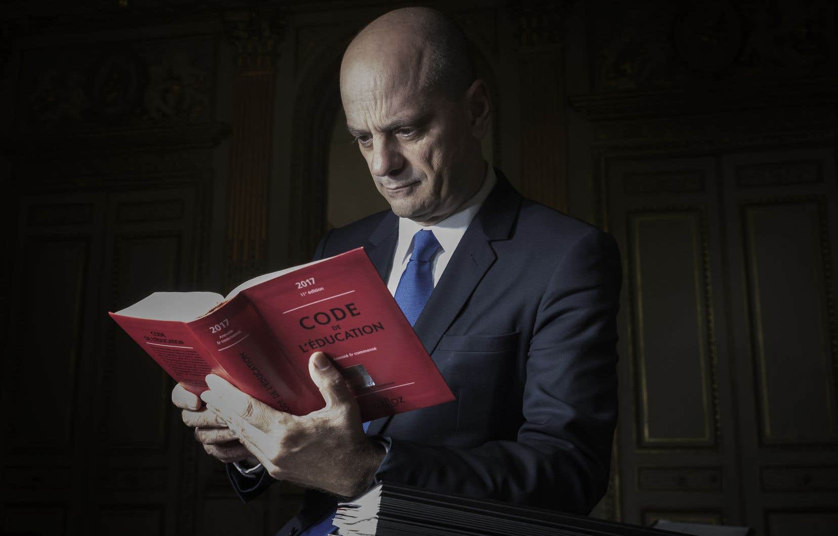 Le ministre français de l'Éducation nationale, Jean-Michel Blanquer
