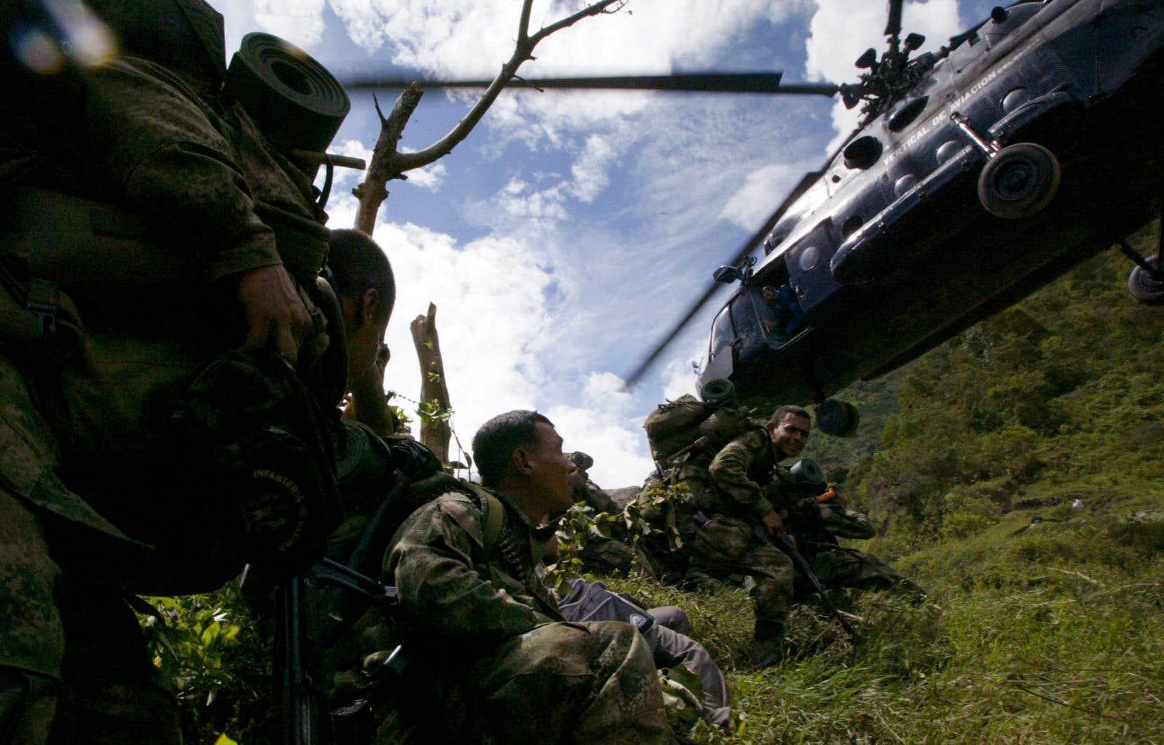 La région étudiée par le chercheur est touchée depuis longtemps par des conflits armés