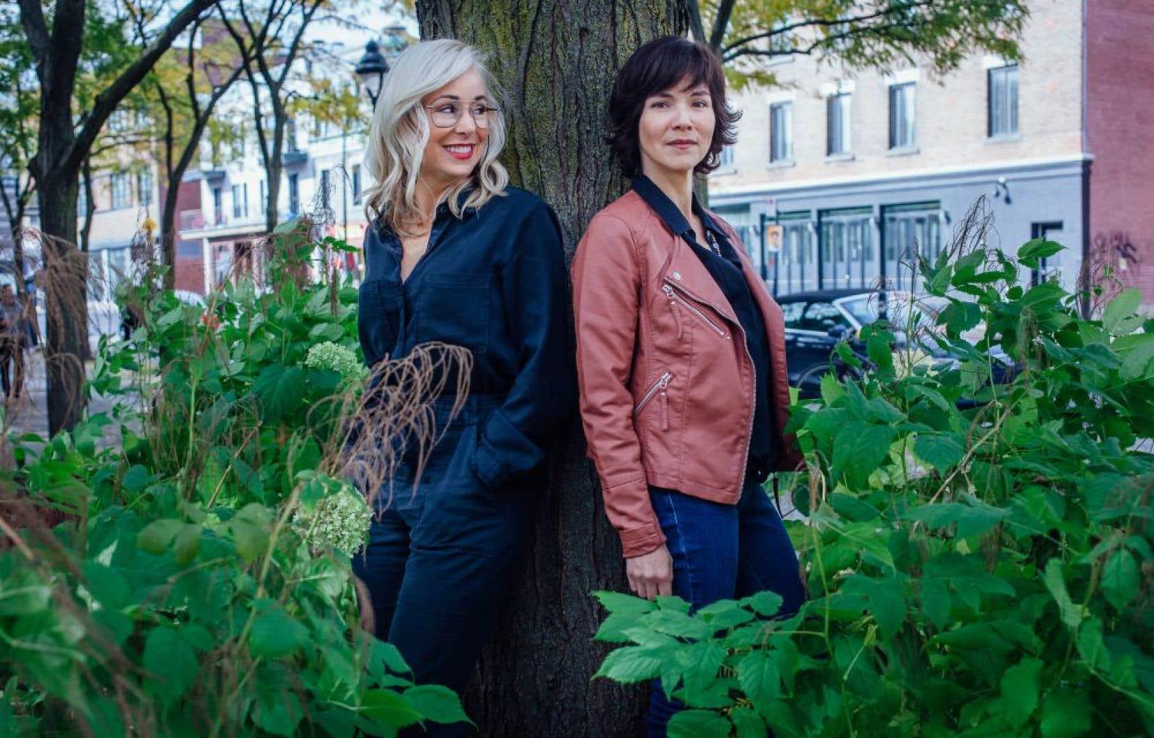Mariloup Wolfe (à gauche) et Marie-Christine Le-Huu