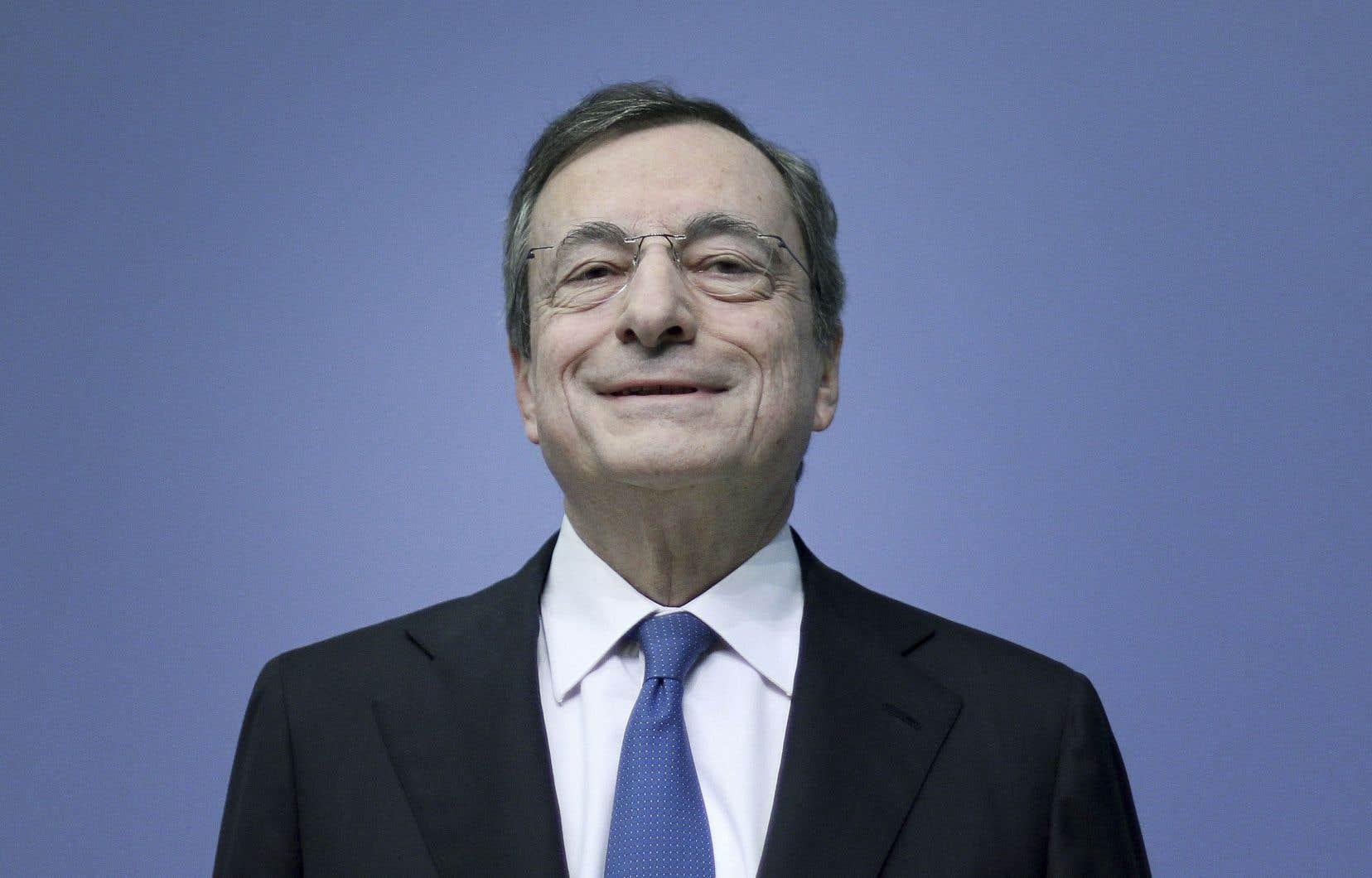 L'Italien Mario Draghi a occupé le poste de président de la Banque centrale européenne pendant huit ans. Ilrésume ainsi son parcours là-bas: «Ne jamais abandonner».