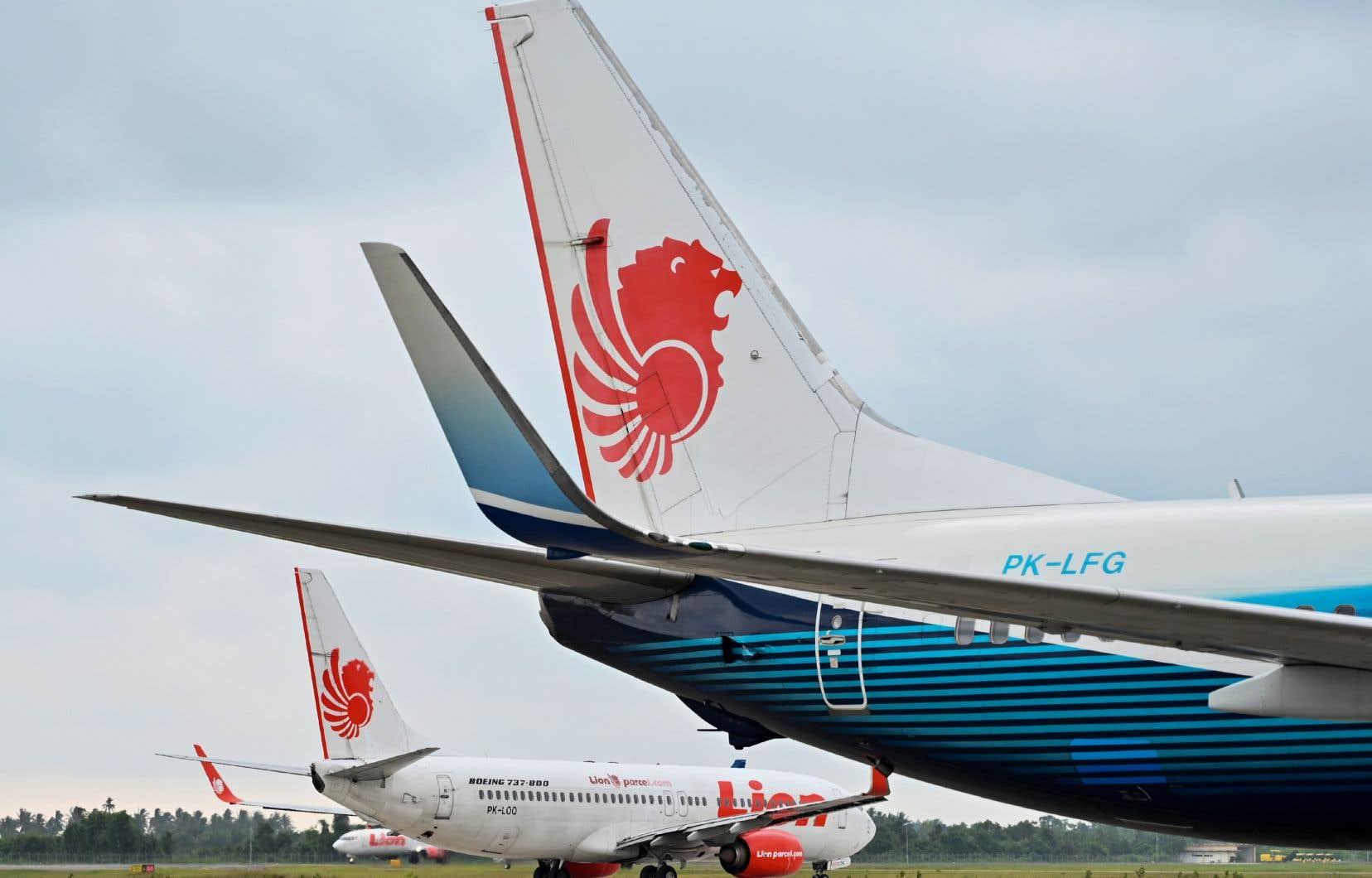 Un Boeing 737 de la compagnie indonésienne Lion Air