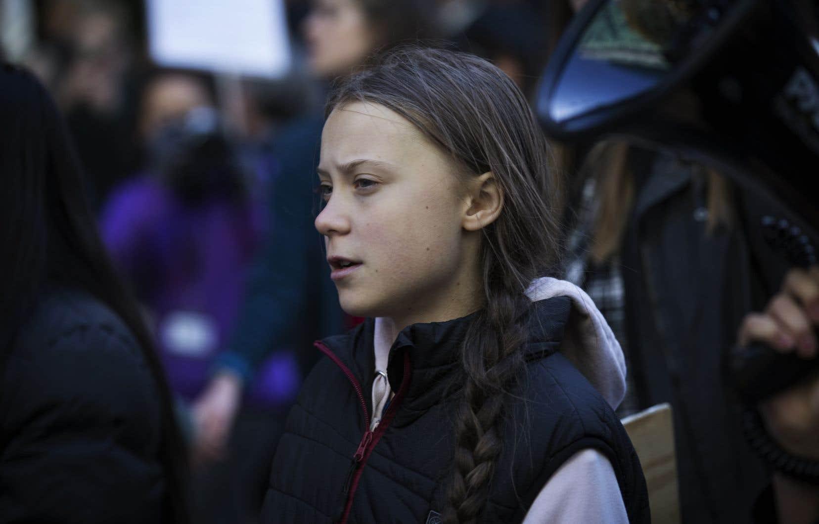 «Ensemble, nous allons faire la différence», a promis la jeune militante suédoise Greta Thunberg.
