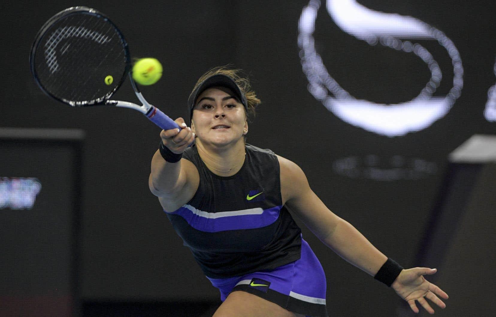 Bianca Andreescu, dont la famille est originaire de Roumanie, se mesurera à la Roumaine Simona Halep.