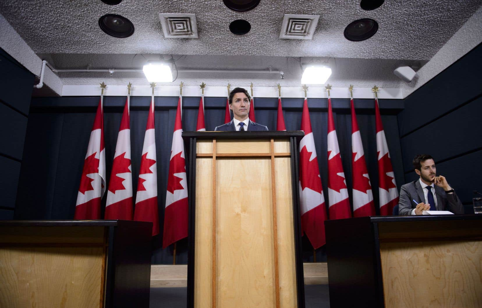 Dans les médias américains comme dans les médias européens, la perception selon laquelle Justin Trudeau a protégé le géant SNC-Lavalin, empêtré dans la corruption, a fait mal à sa réputation.