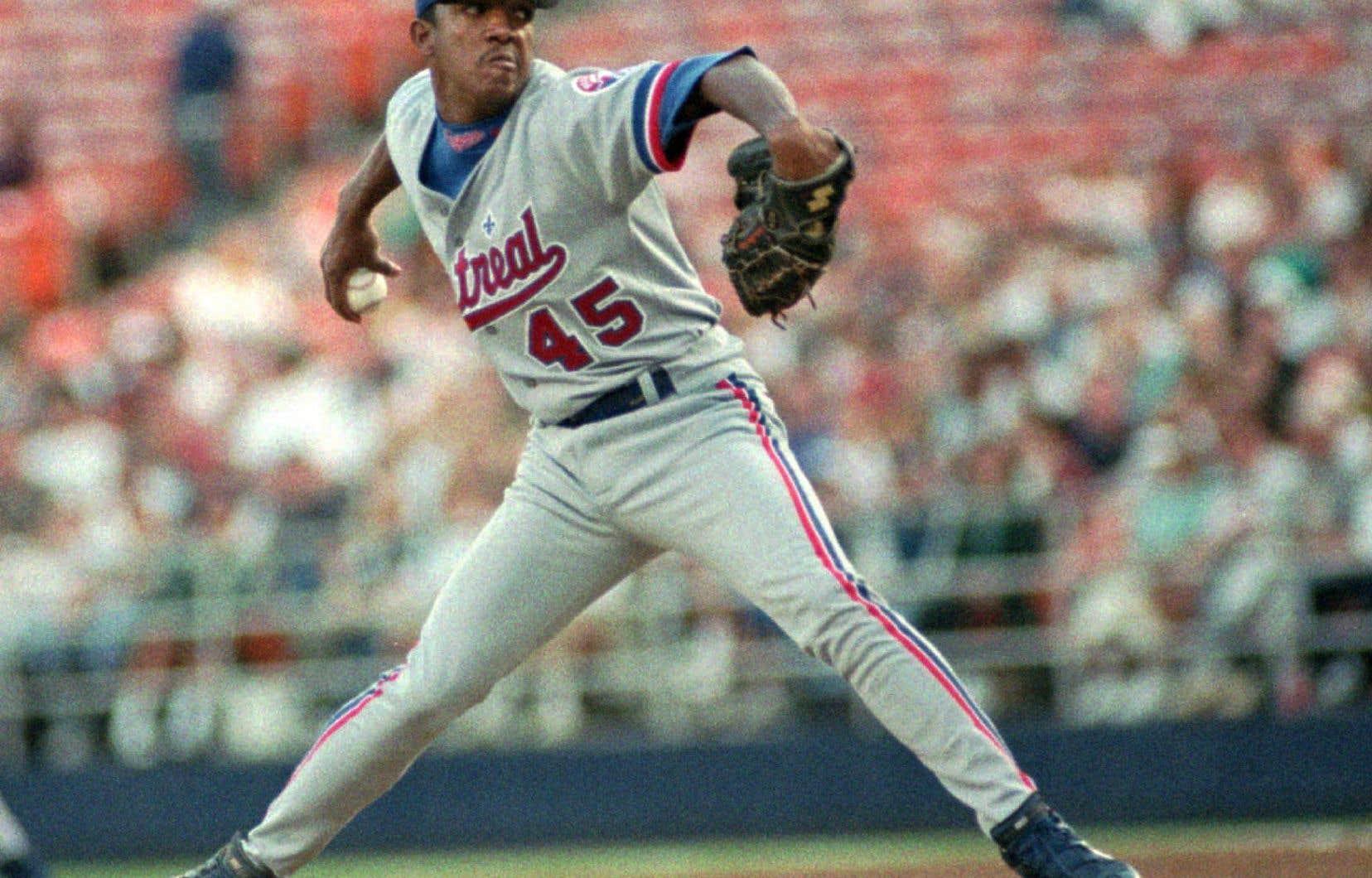 Pedro Martinezétait le quatrième partant de la rotation des Expos de Montréal de 1994.