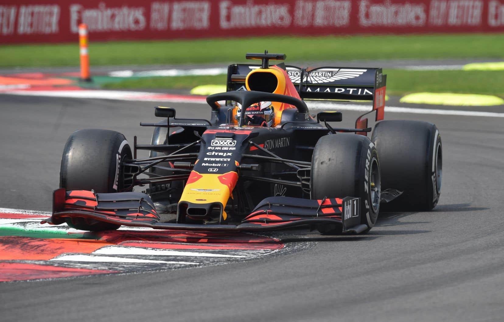 Le pilote Red Bull Max Verstappena atteint la sixième place au Grand Prix du Mexique, dimanche dernier.