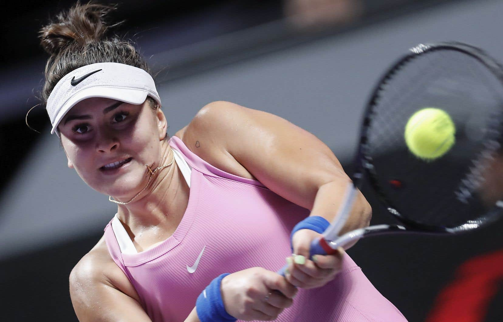 Biance Andreescu (sur la photo) est la première Canadienne à participer aux Finales de la WTA depuis Eugénie Bouchard.