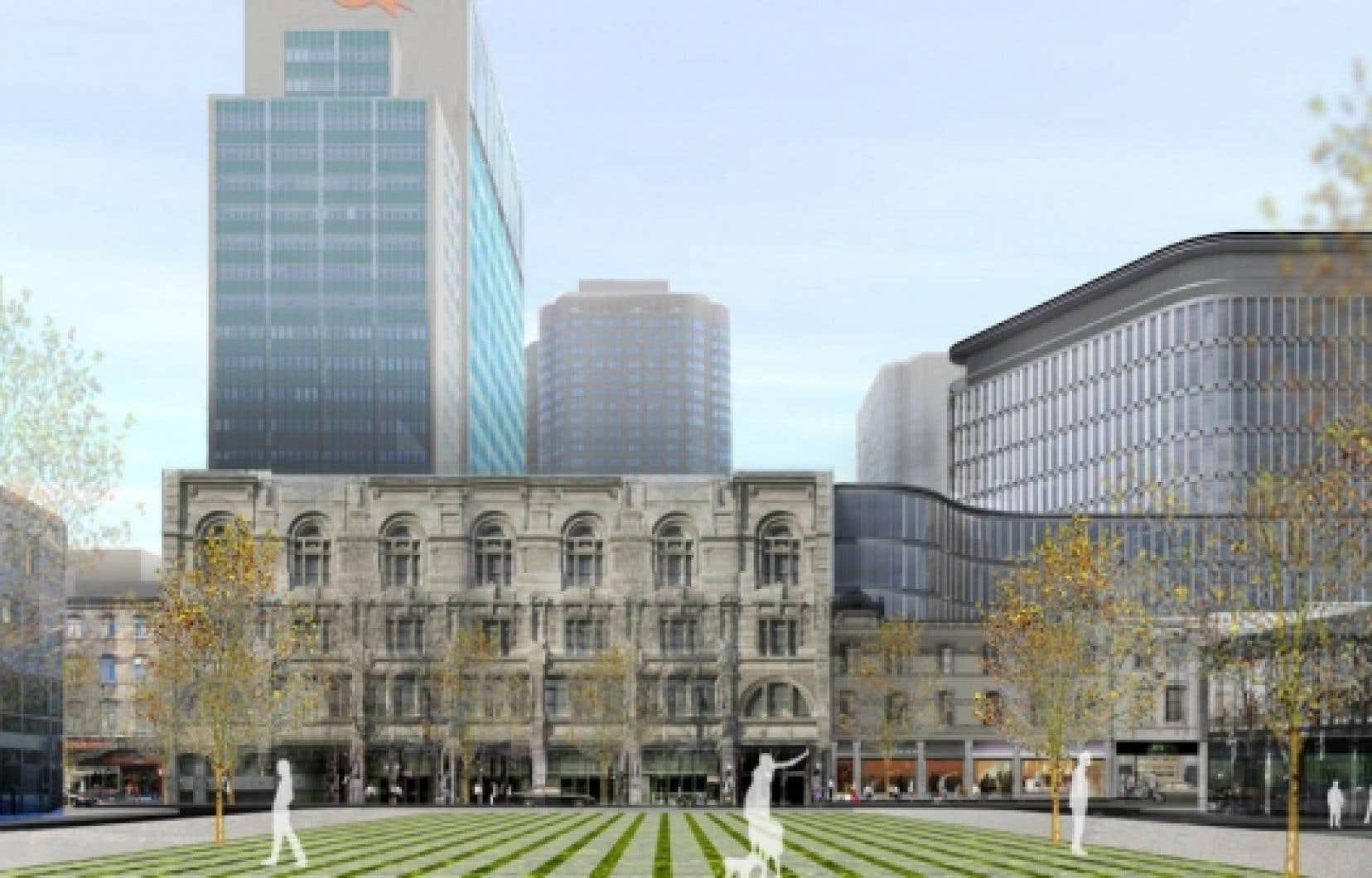 La Société de développement Angus a proposé à la Ville de Montréal de segmenter son projet nommé Quadrilatère Saint-Laurent, mais la réglementation ne le permettait pas. <br />