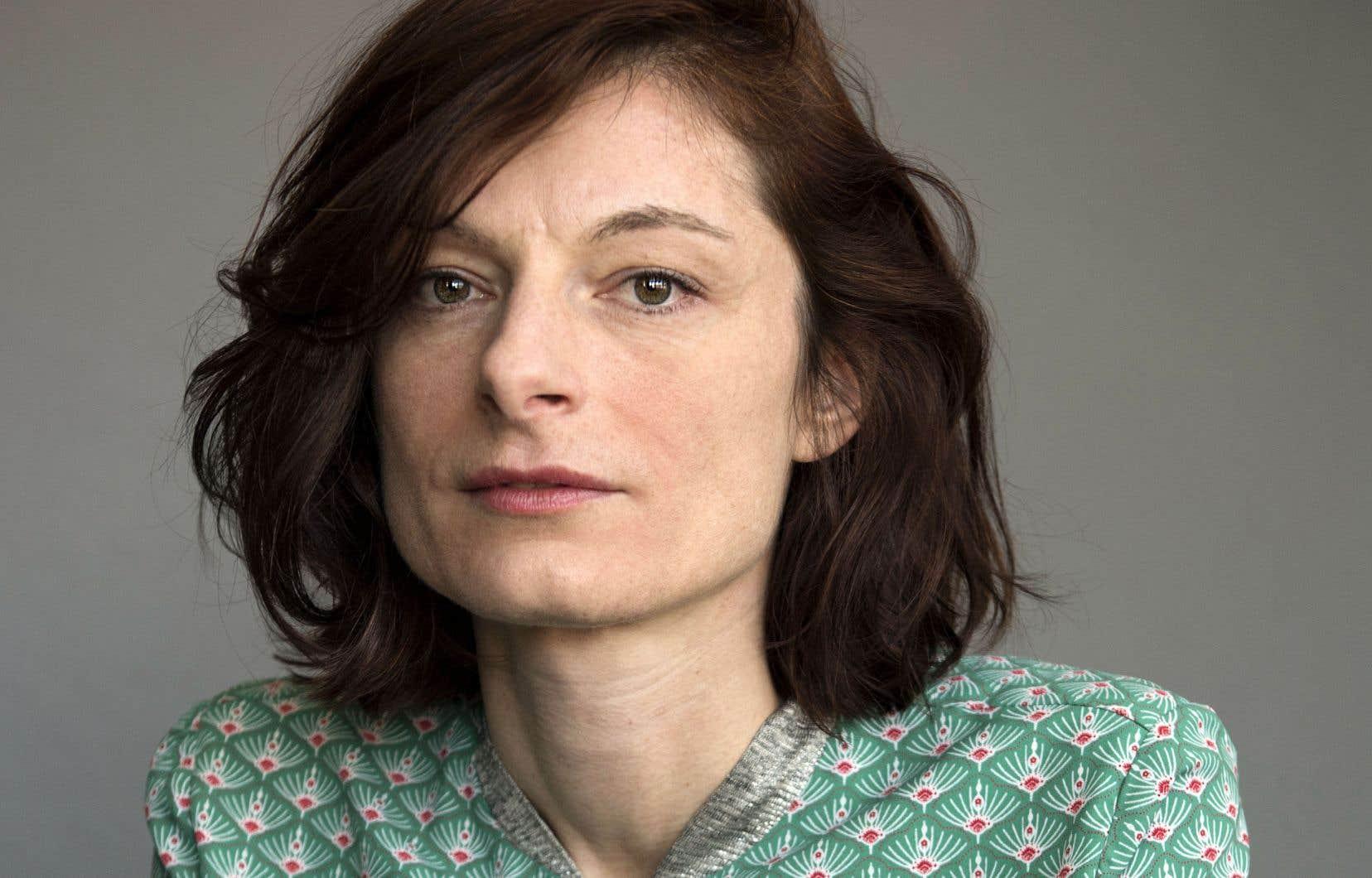 Céline Huyghebaert a étéprimée dans la catégorie «Romans et nouvelles» pour son premier livre «Le drap blanc».