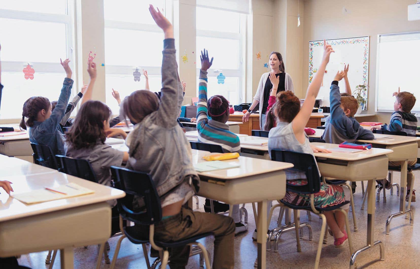 La Fédération des syndicats de l'enseignement (FSE-CSQ) a réclamé récemment un rattrapage salarial de 8% pour atteindre la rémunération moyenne canadienne.