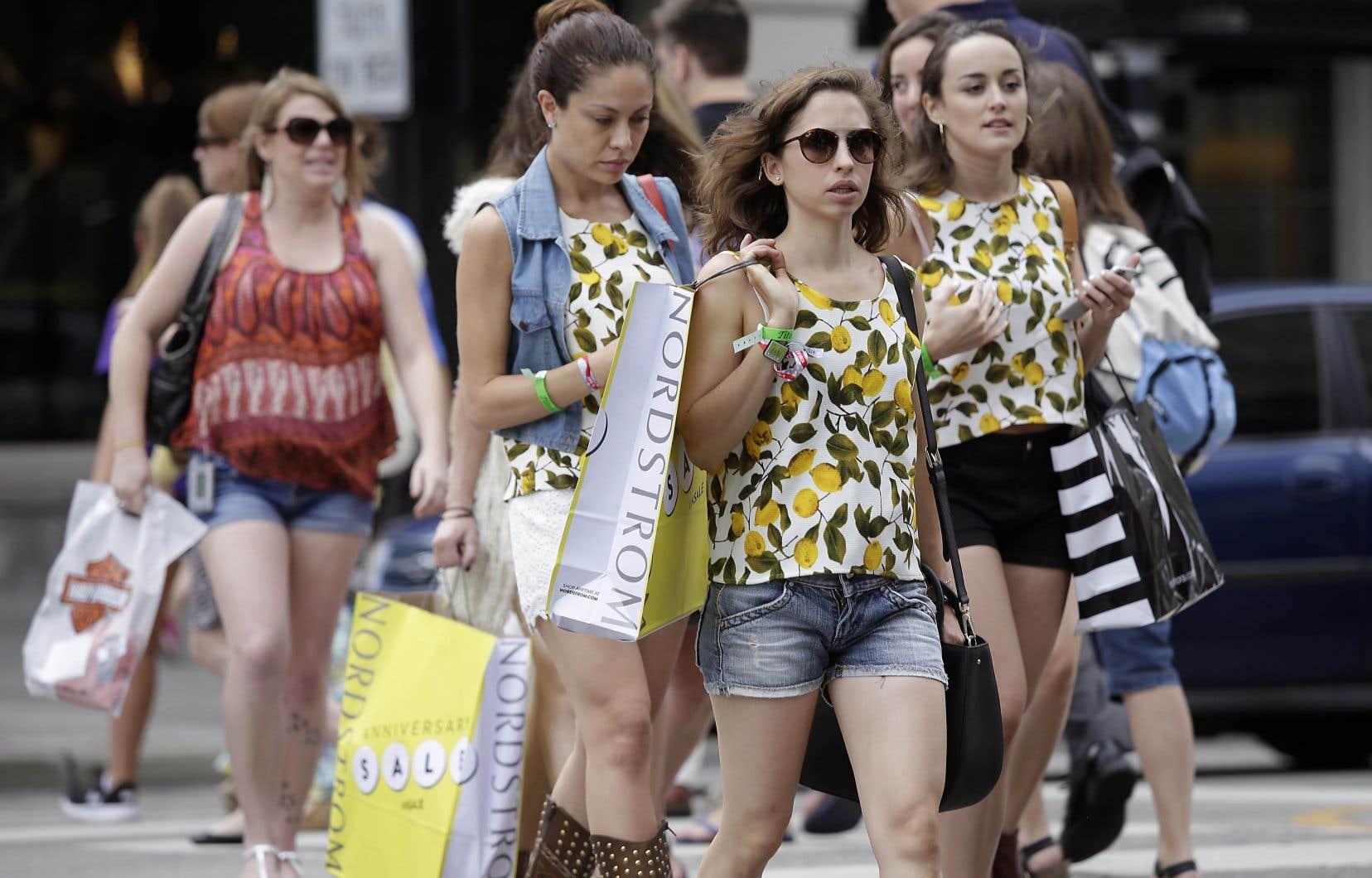 Les dépenses de consommation gardent l'économie américaine à flot, pour l'instant.