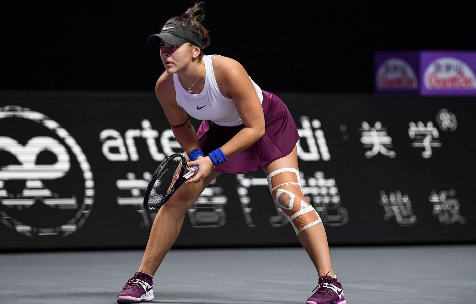 Bianca Andreescu a connu une année très positive, qui lui a permis d'émerger de l'ombre et qui a été marquée par son triomphe en finale des Internationaux des États-Unis contre l'Américaine Serena Williams.
