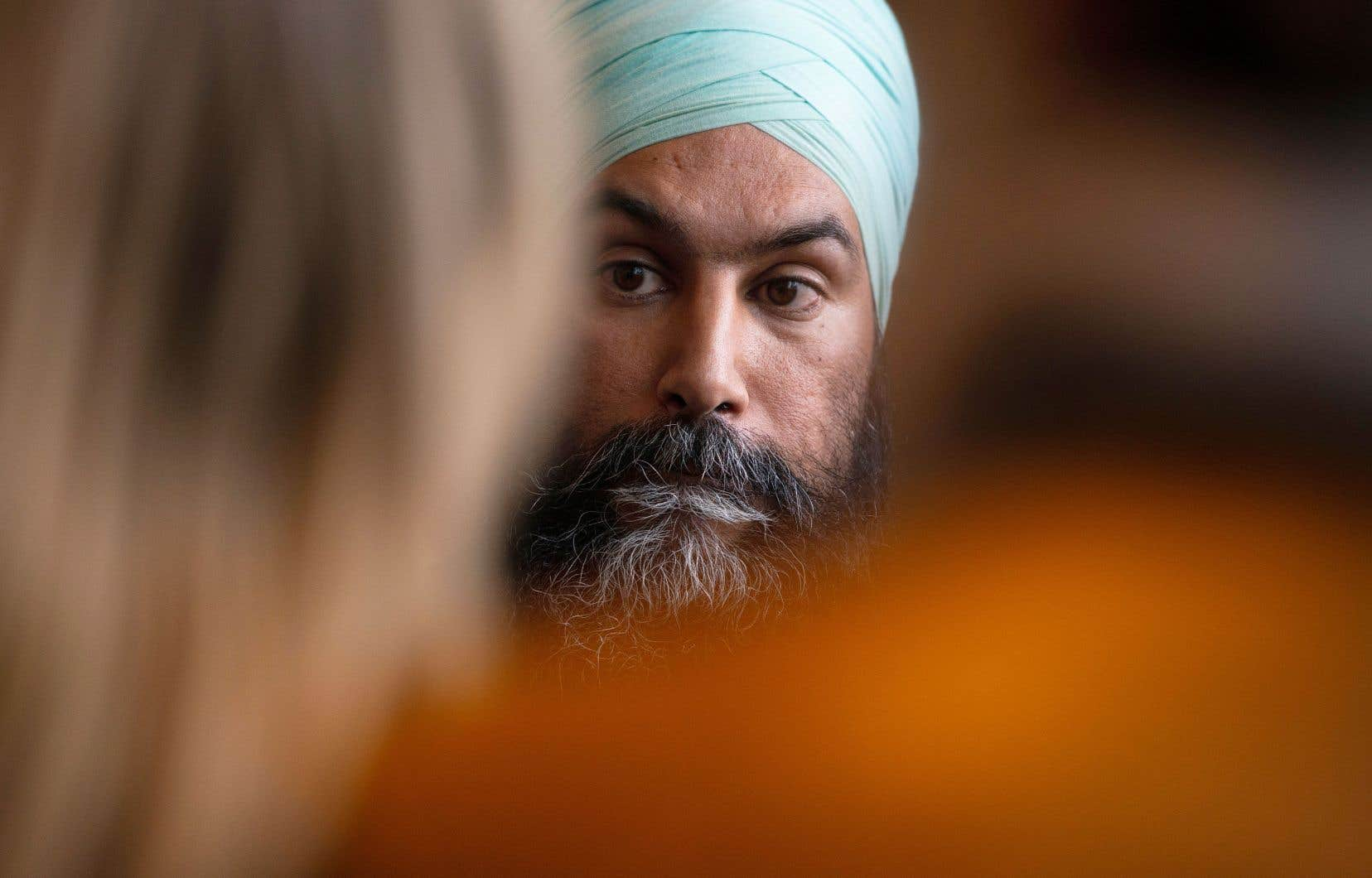 Jagmeet Singh a rencontré mercredi à Ottawa ses députés, les élus comme les députés défaits.