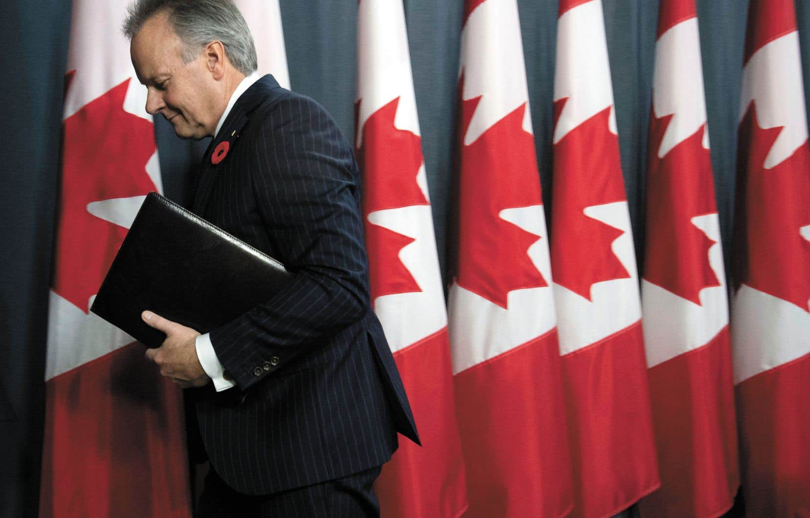 Le gouverneur de la Banque du Canada, Stephen Poloz, n'a pas fermé la porte à une éventuelle baisse du loyer de l'argent au pays si la situation économique devait se dégrader.
