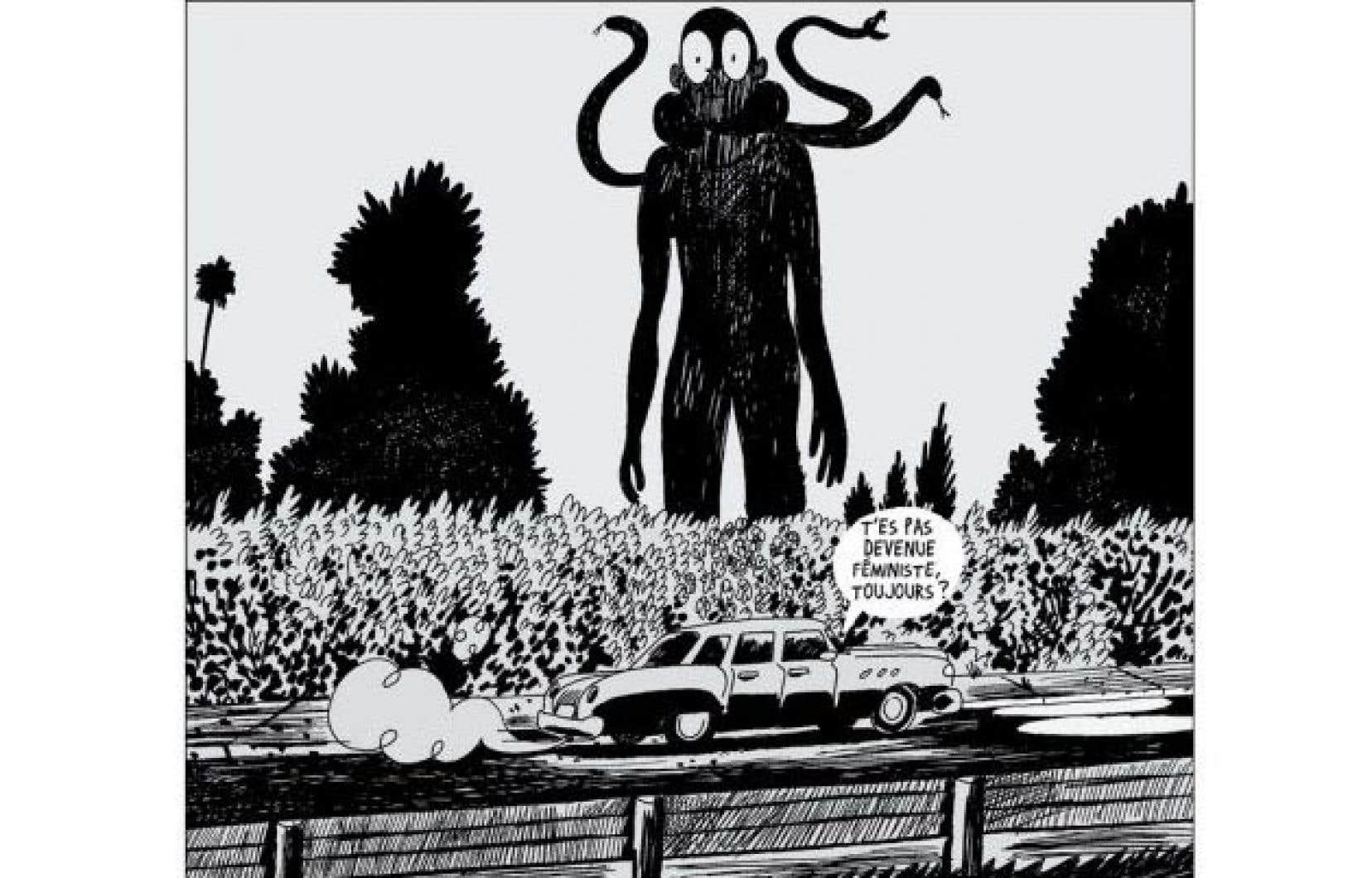 Illustration tirée d'«Un jour de plus»
