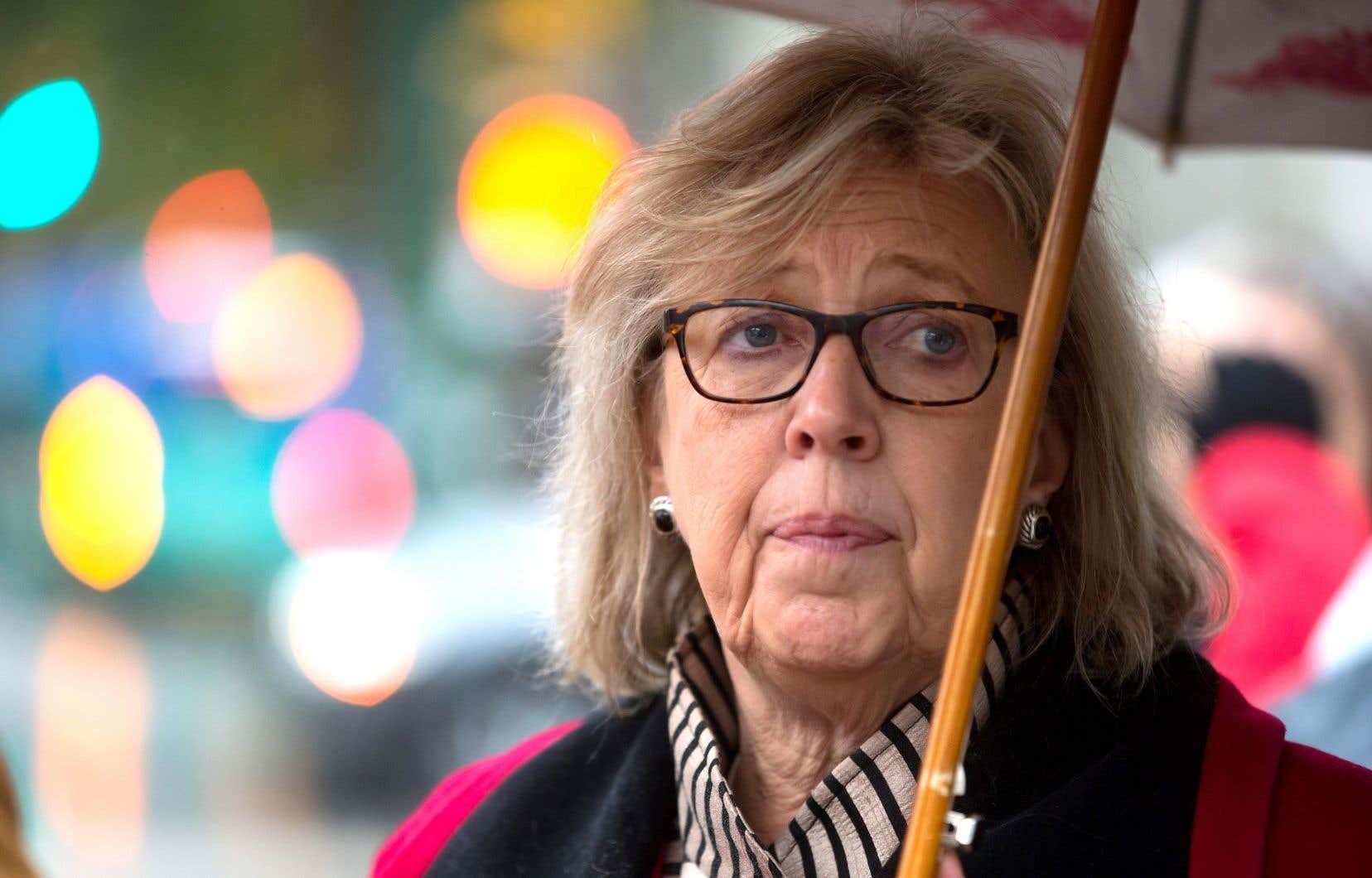La cheffe du Parti vert avait déjà annoncé son intention de céder la direction de son parti. Mais voilà qu'elle fait part de son désir d'assumer un nouveau rôle à Ottawa, celui de présidente de la Chambre des communes.