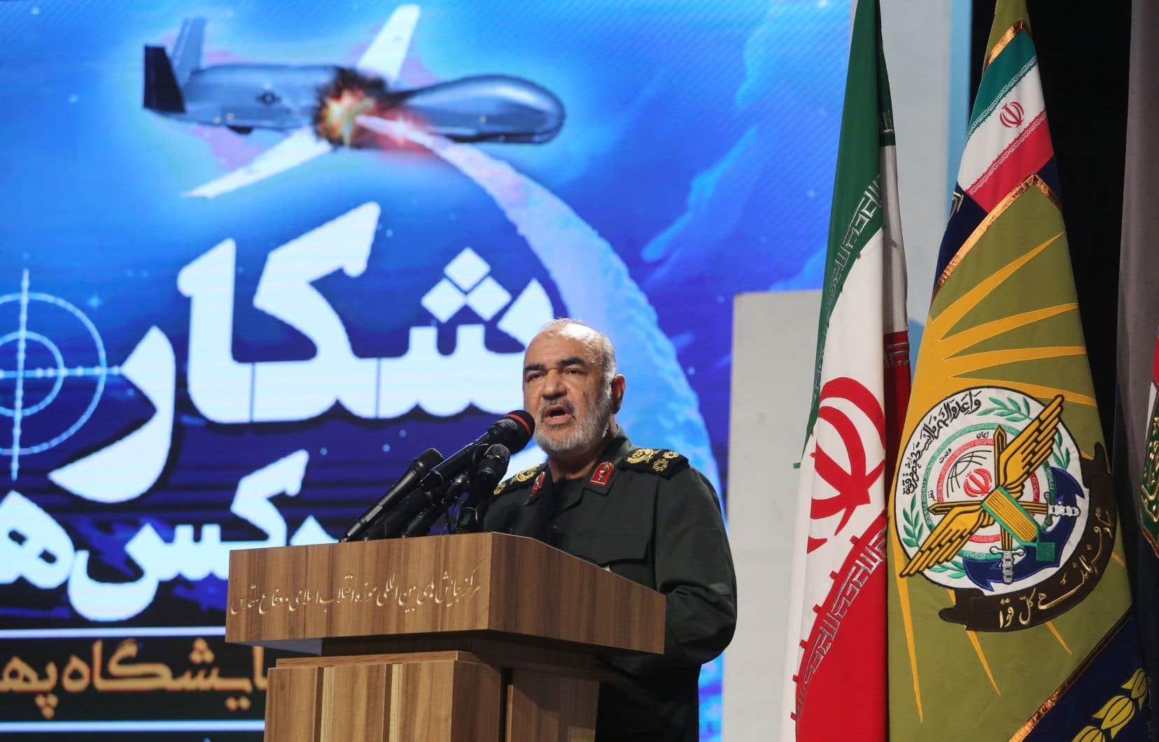 «Le chef des Gardiens de la révolution, Hossein Salami, a notamment déclaré que l'Iran avait la capacité d'annihiler Israël», souligne l'auteur.