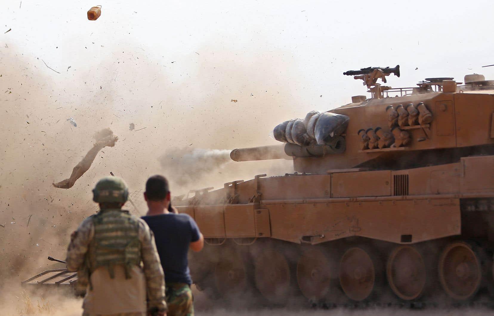 L'intervention turque dans le nord-est de la Syrie était une question de temps.