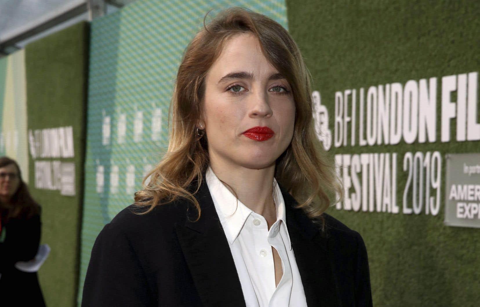 Adèle Haenel a été récompensée par deux César au cours de sa carrière. Elle est à l'affiche cet automne avec«Portrait de la jeune fille en feu», de Céline Sciamma.