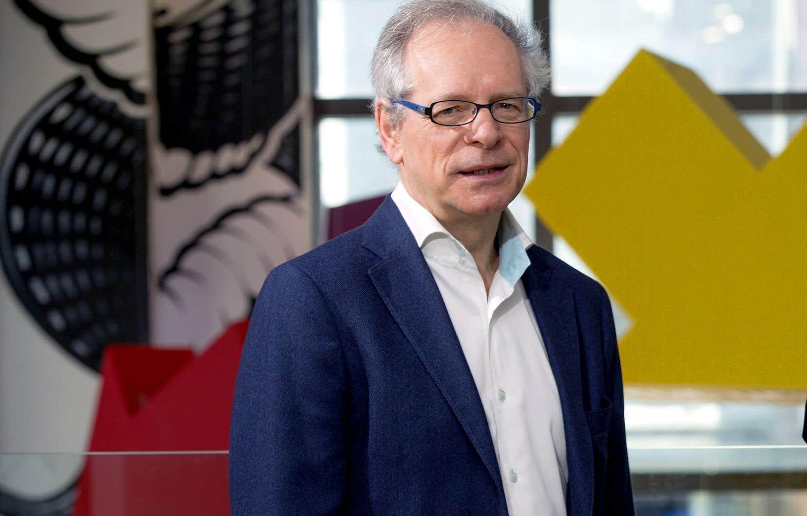 Le directeur du Conseil des arts du Canada, Simon Brault