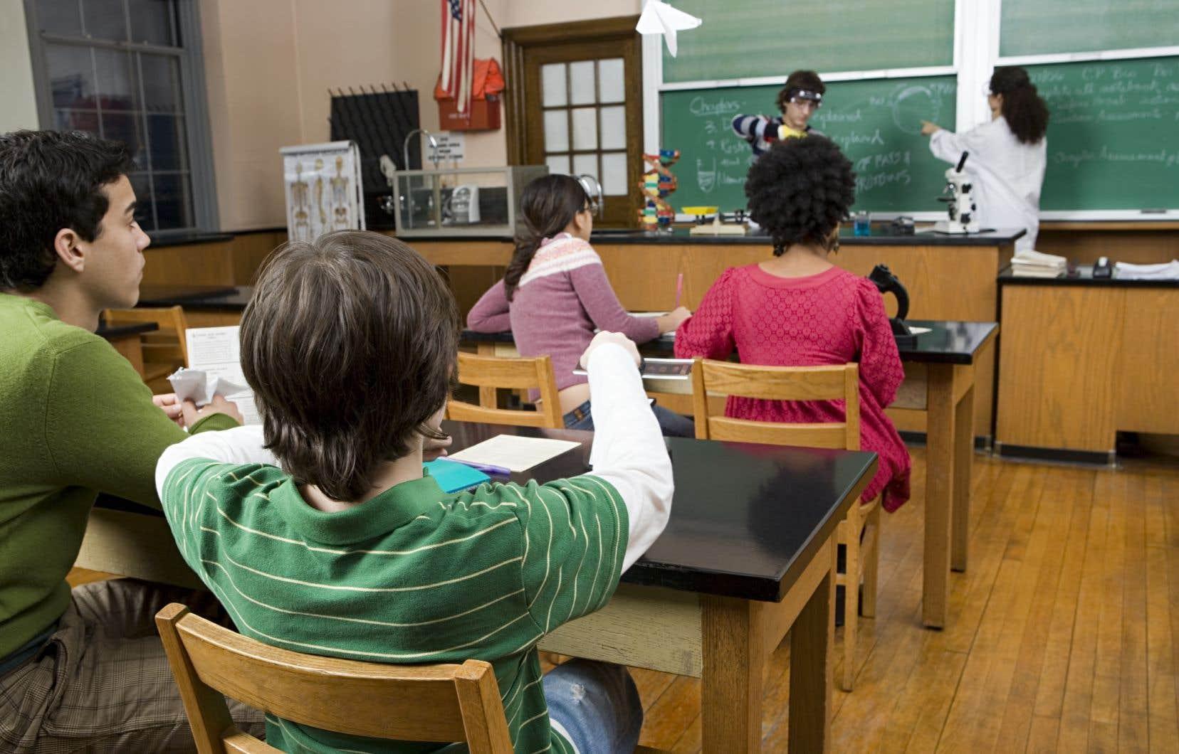 Le comportement de l'élève serait un «symptôme» plutôt qu'un «problème», selon la chercheuseMarie-Christine Brault.