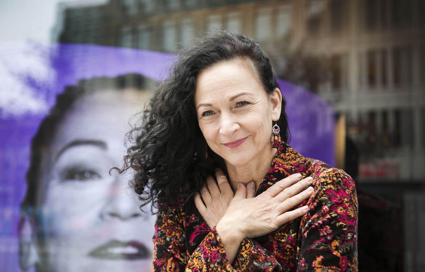 La pièce «Fleuve» s'inspire des romans autobiographiques de Sylvie Drapeau.