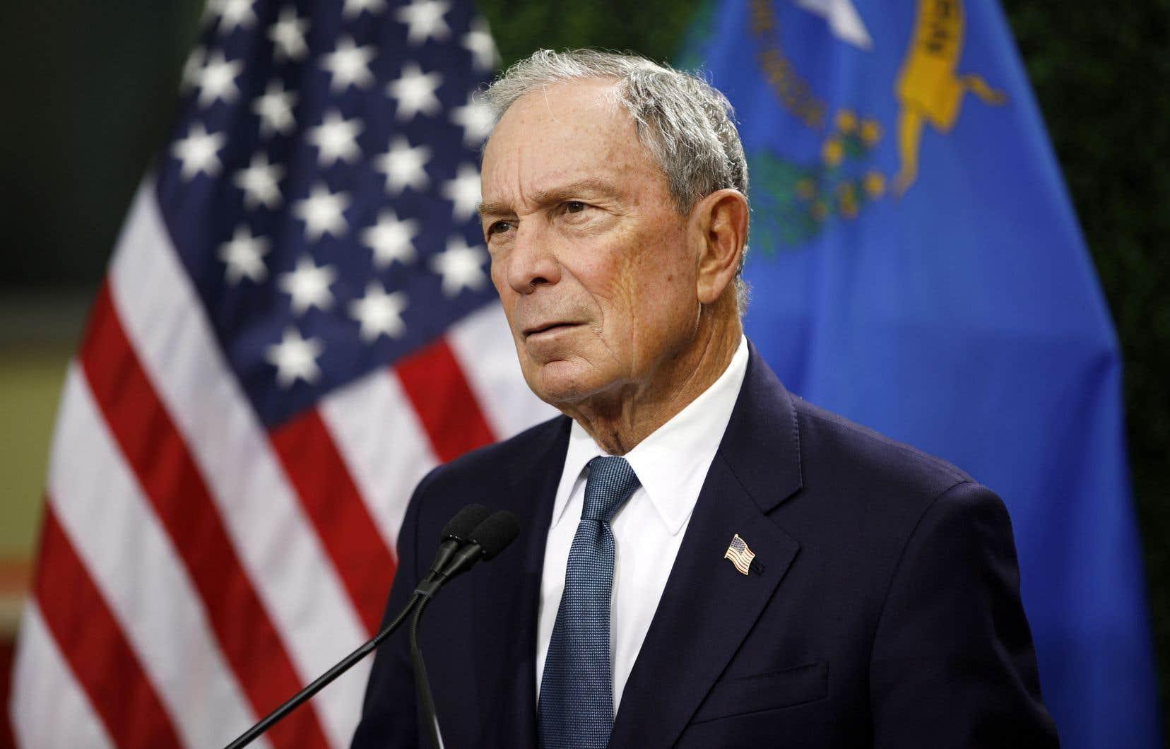 Michael Bloomberg (sur la photo), une figure centriste proche de Wall Street, n'a jamais caché ces derniers temps son opposition aux mesures prônées par MmeWarren et M.Sanders.