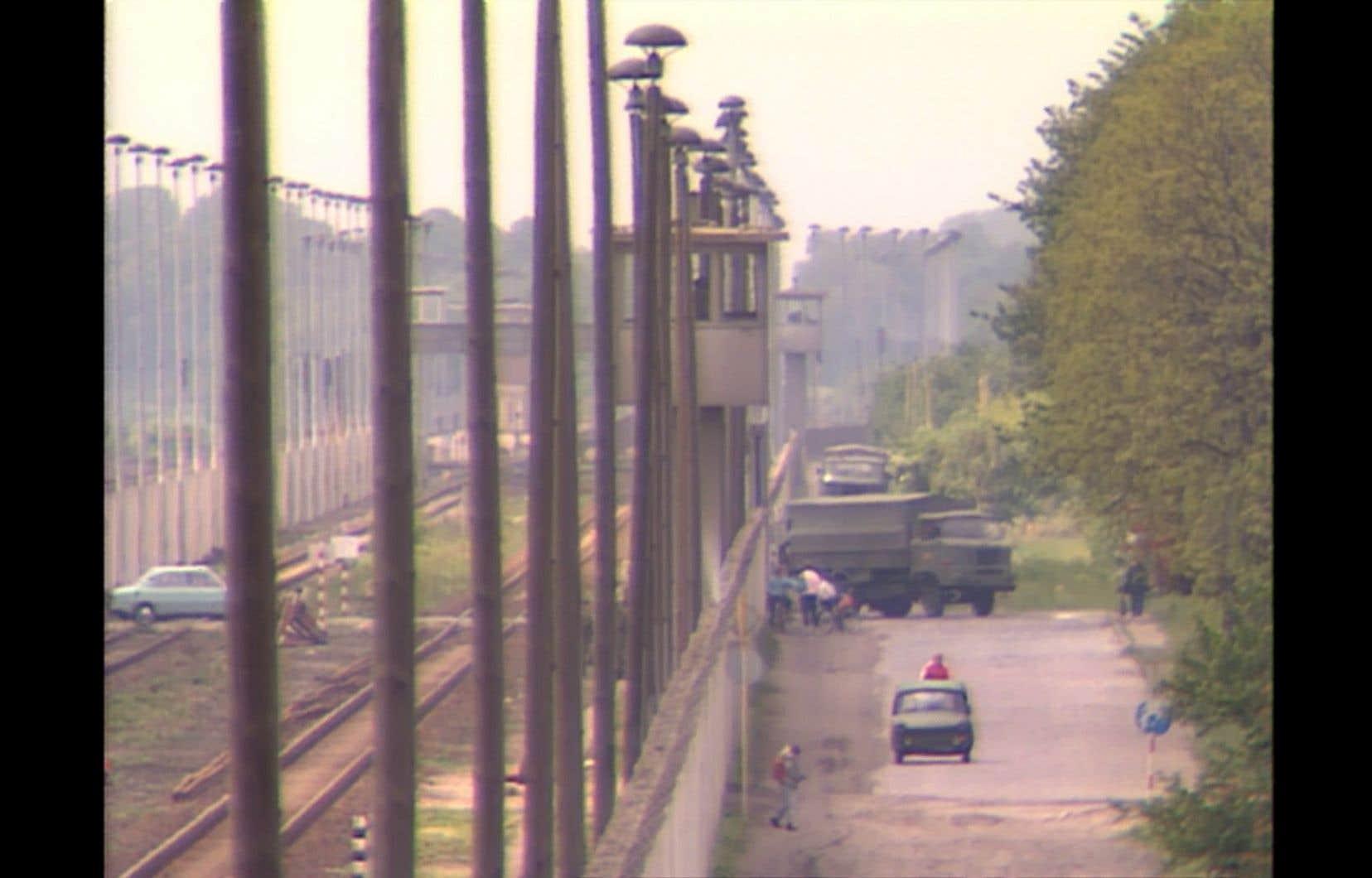 Le documentaire «Berlin ou l'art de l'évasion» repose notamment sur les images de Patrice Massenet, un caméraman canadien ayant tourné à Berlin-Ouest en 1987 à l'occasion du 750eanniversaire de la ville.