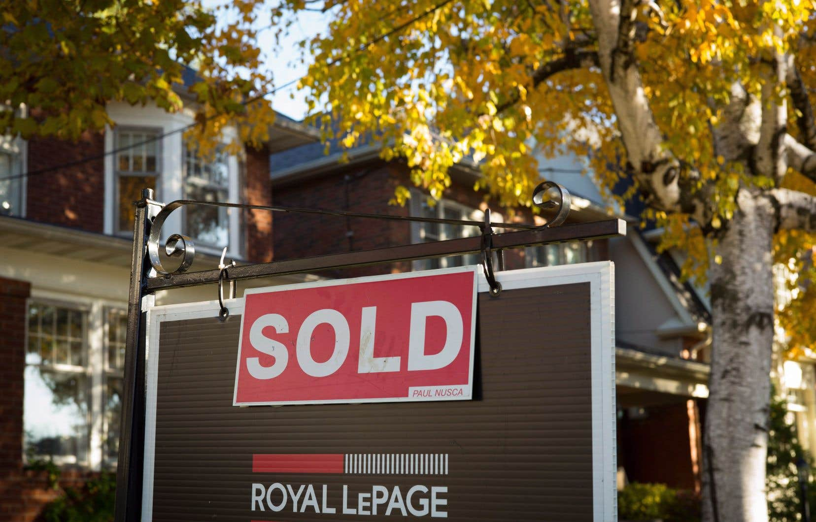 Le degré de vulnérabilité de Toronto est passé d'élevé à modéré, les prix ayant retraité de 0,8% au deuxième trimestre.