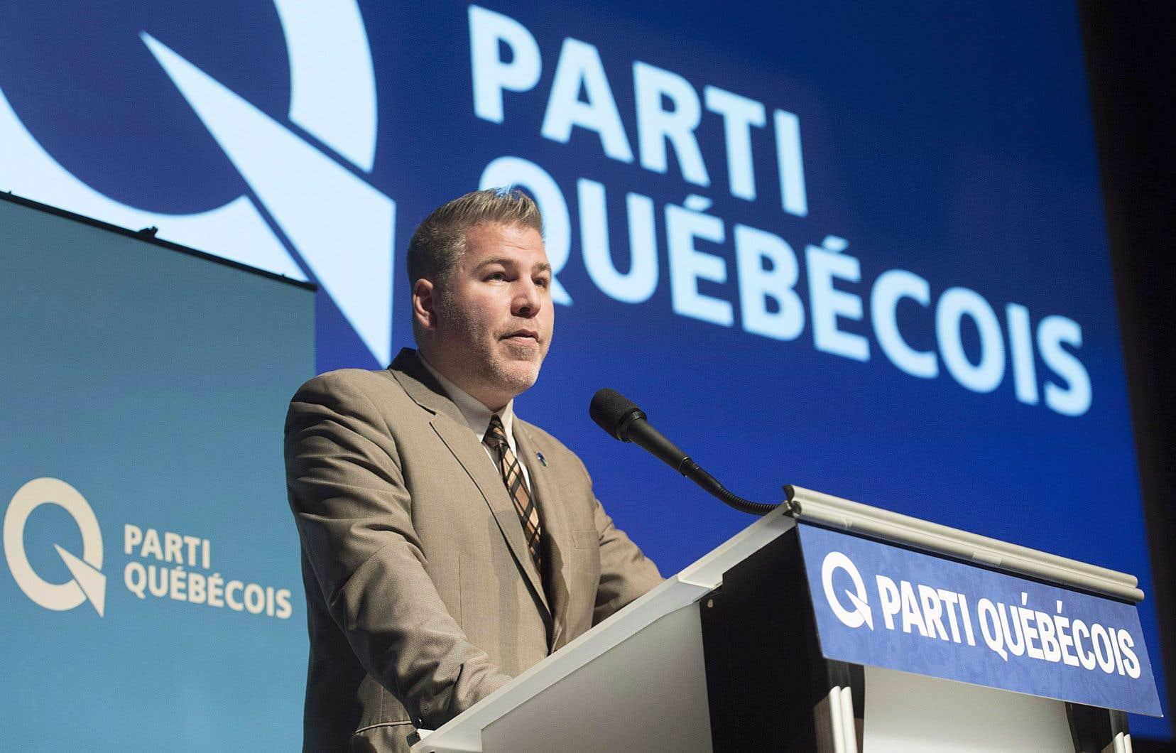 Pascal Bérubé, chef par intérim du Parti québécois