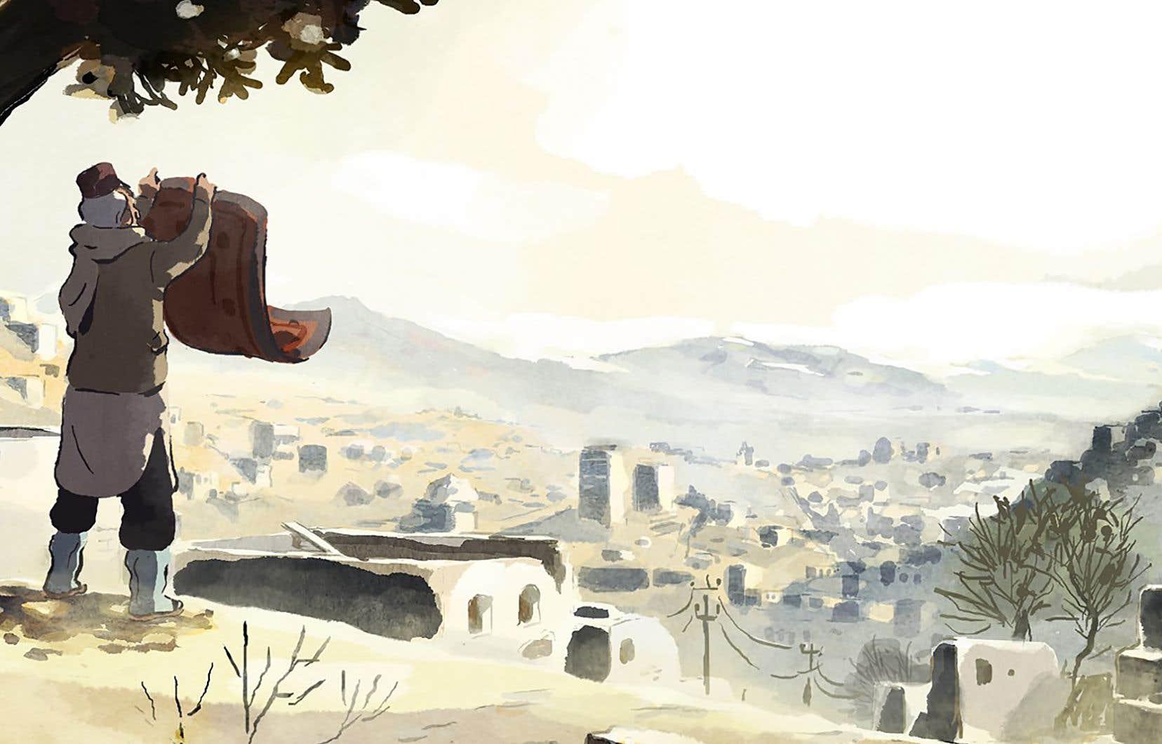 Le style d'animation s'est construit en étroite collaboration avec l'artiste Eléa Gobbé-Mévellec.