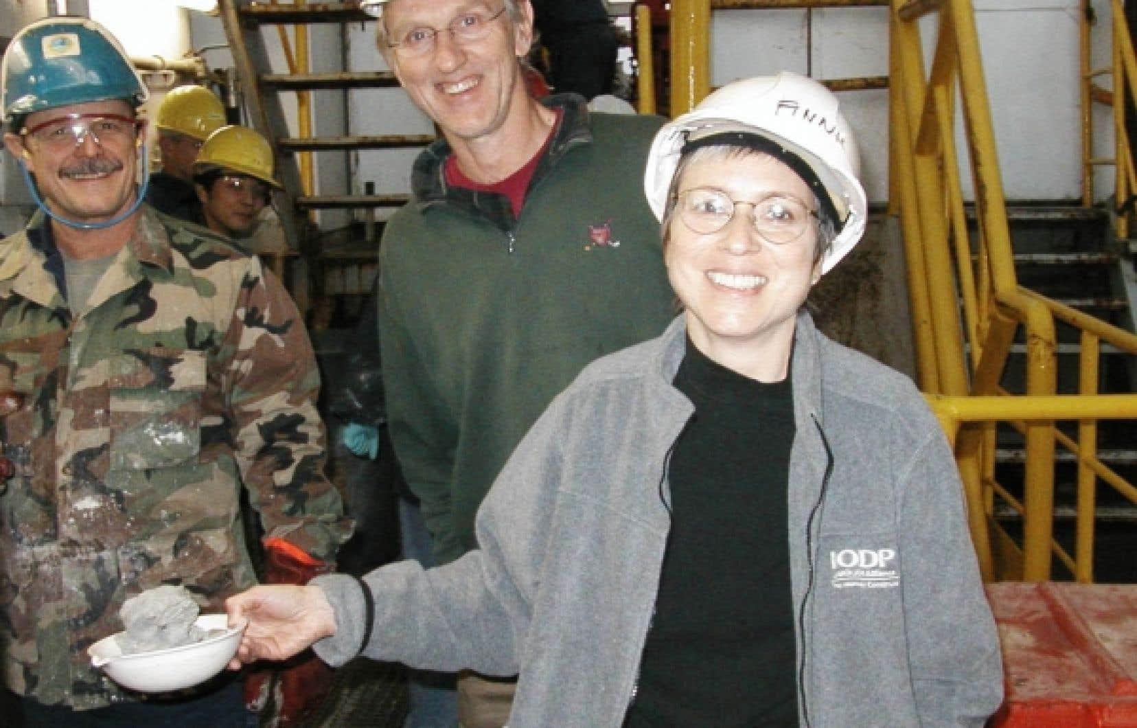 Anne de Vernal était à bord du navire JOIDES Resolution<br />