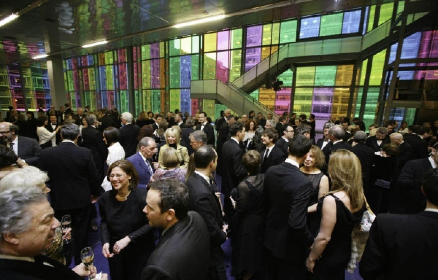 Le Palais des congrès a tenu en moyenne 45 salons commerciaux et privés par année, au cours des huit dernières années.<br />
