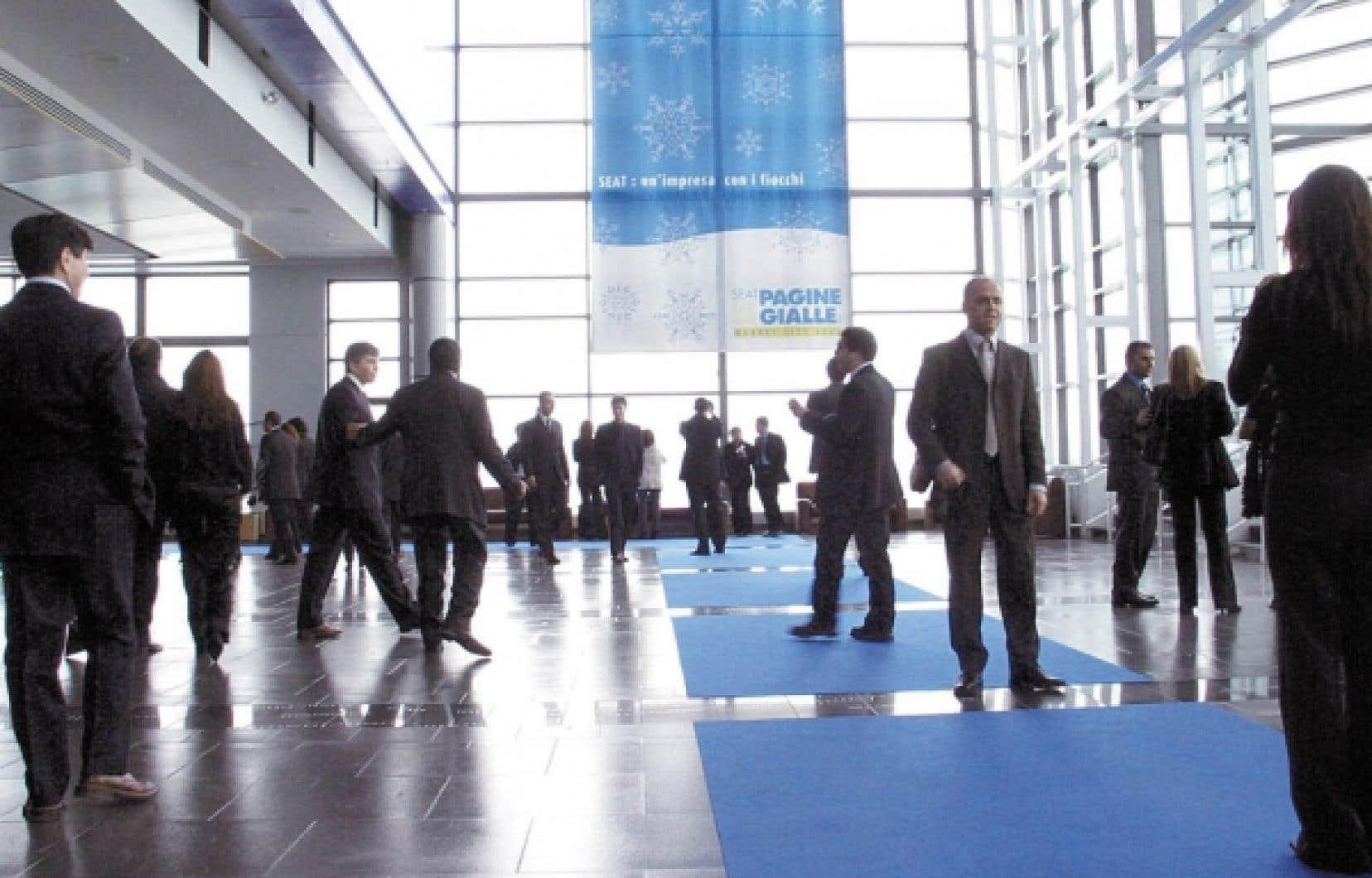 Durant l'année 2009-2010, 146 événements ont eu lieu au Centre des congrès de Québec, dont 52 congrès.<br />