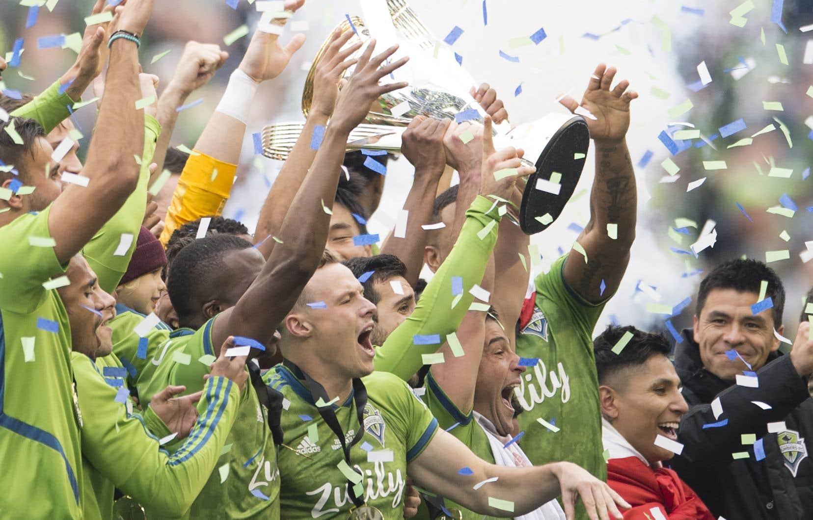 Les Sounders de Seattle ont désormais deux conquêtes de la coupe MLS à leur actif, comme les formations de Houston, de Kansas City et de San Jose.