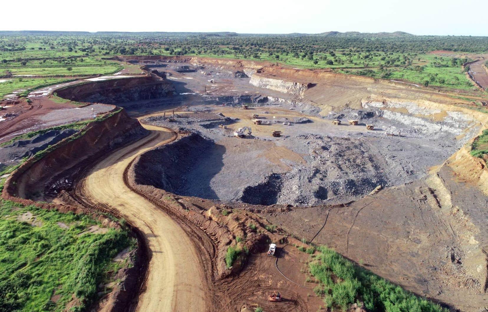L'attaque est survenue près de la mine Boungou.