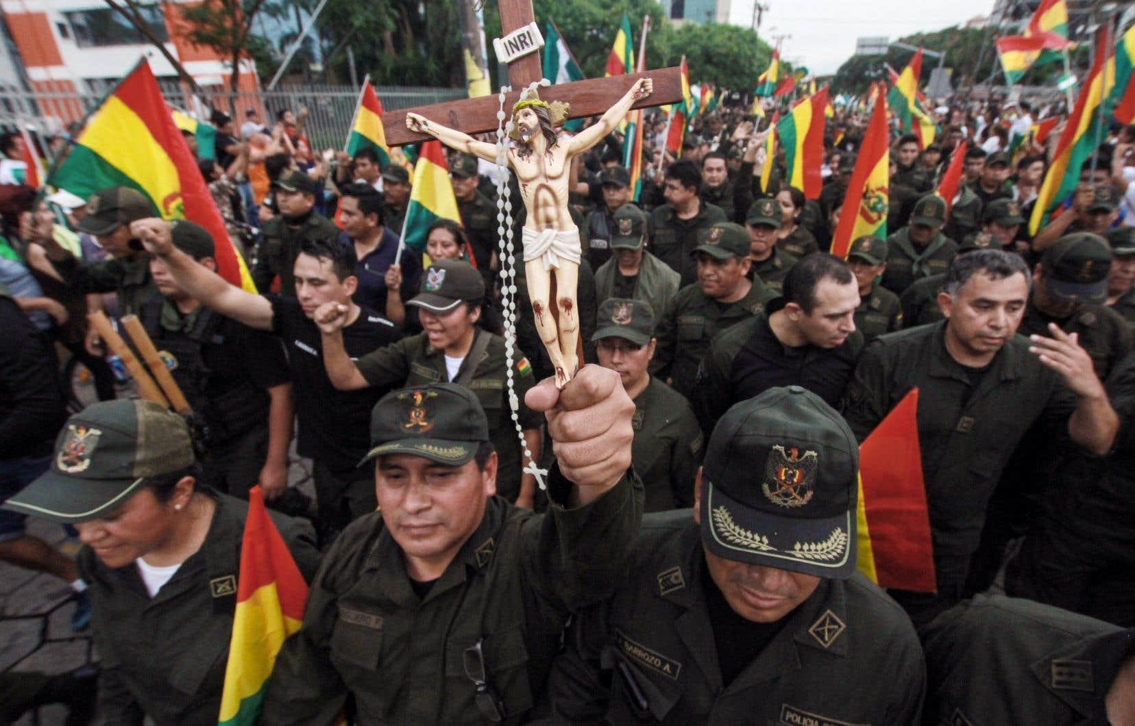 Un coup d'État pas ordinaire en Bolivie